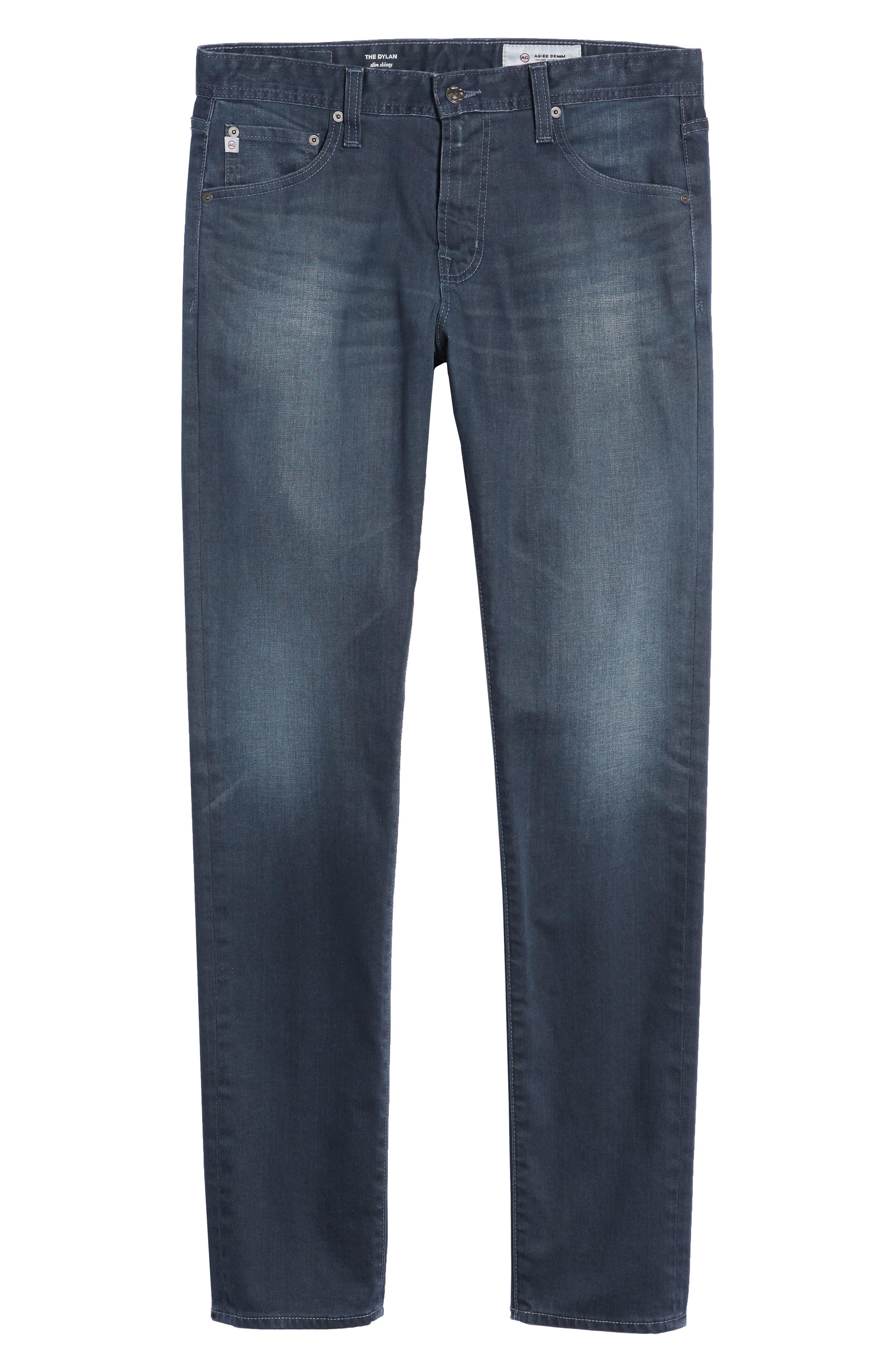 Dylan Skinny Fit Jeans,                             Alternate thumbnail 6, color,