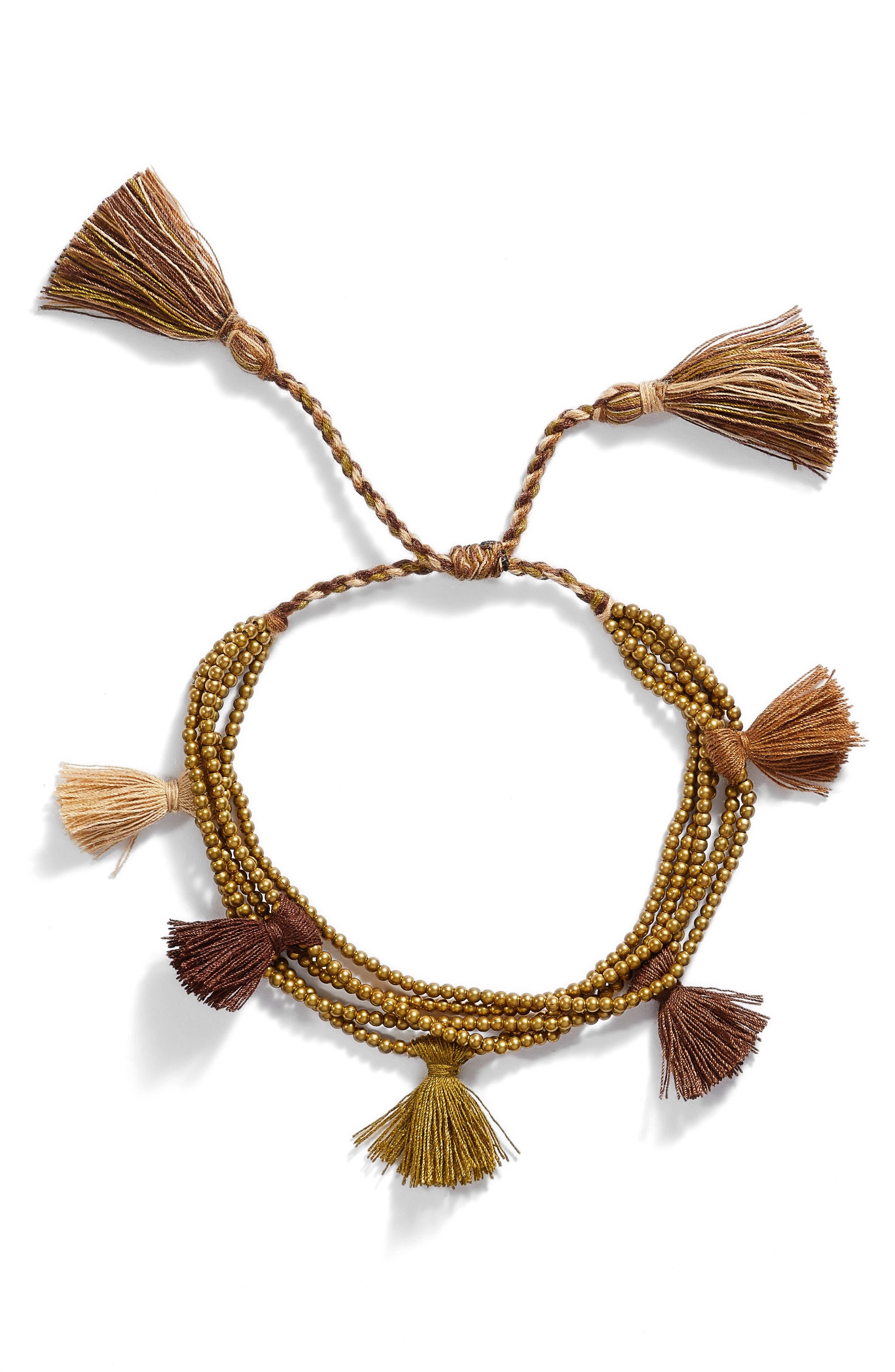 Dacing Tassel Bracelet,                         Main,                         color, 250