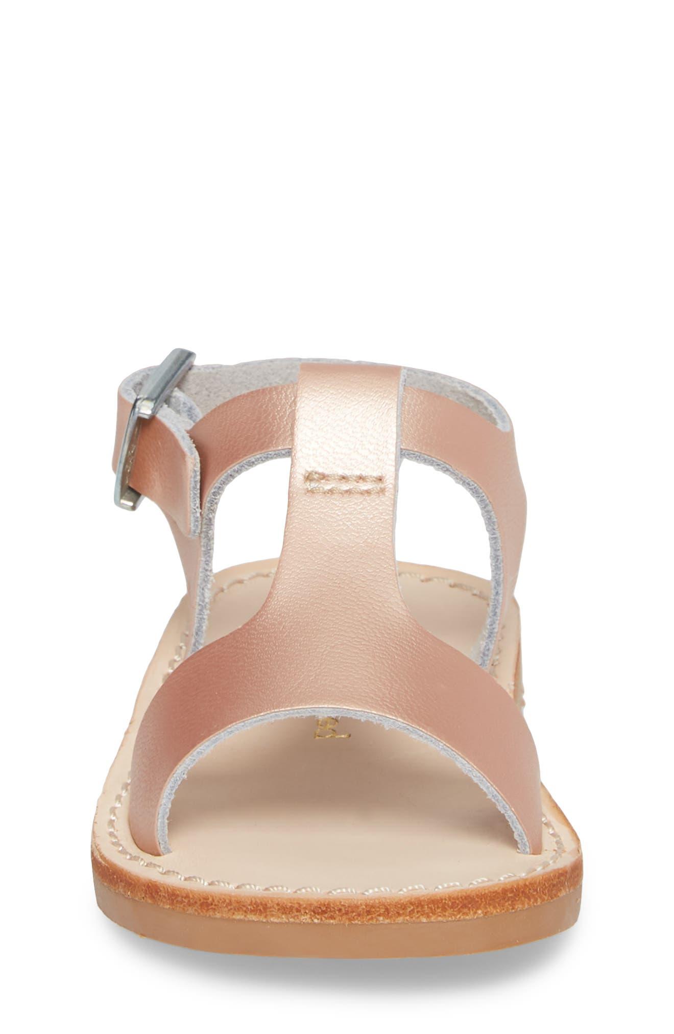 Malibu Water Resistant Sandal,                             Alternate thumbnail 4, color,                             ROSE GOLD