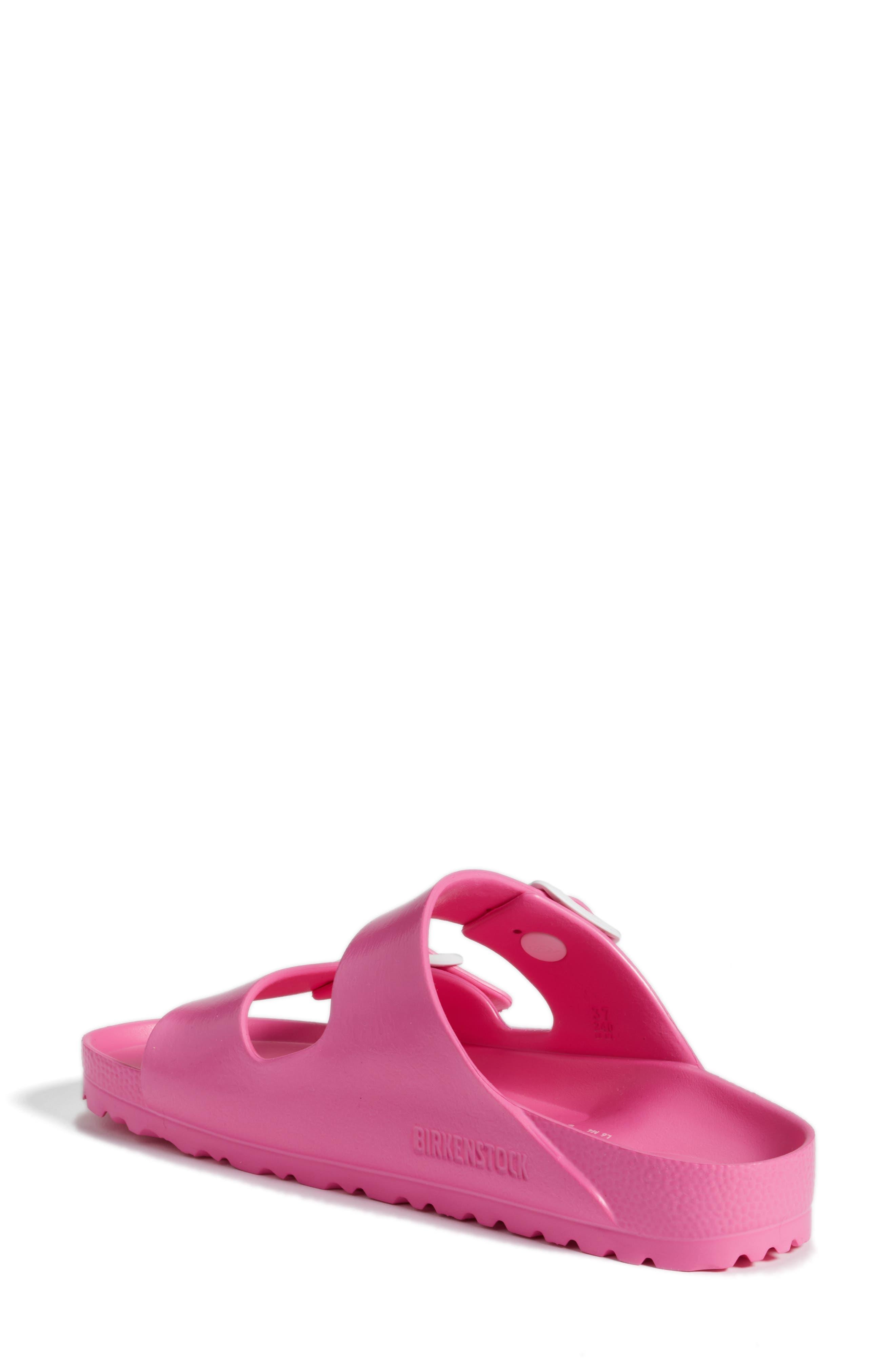 Essentials - Arizona Slide Sandal,                             Alternate thumbnail 2, color,                             PINK EVA