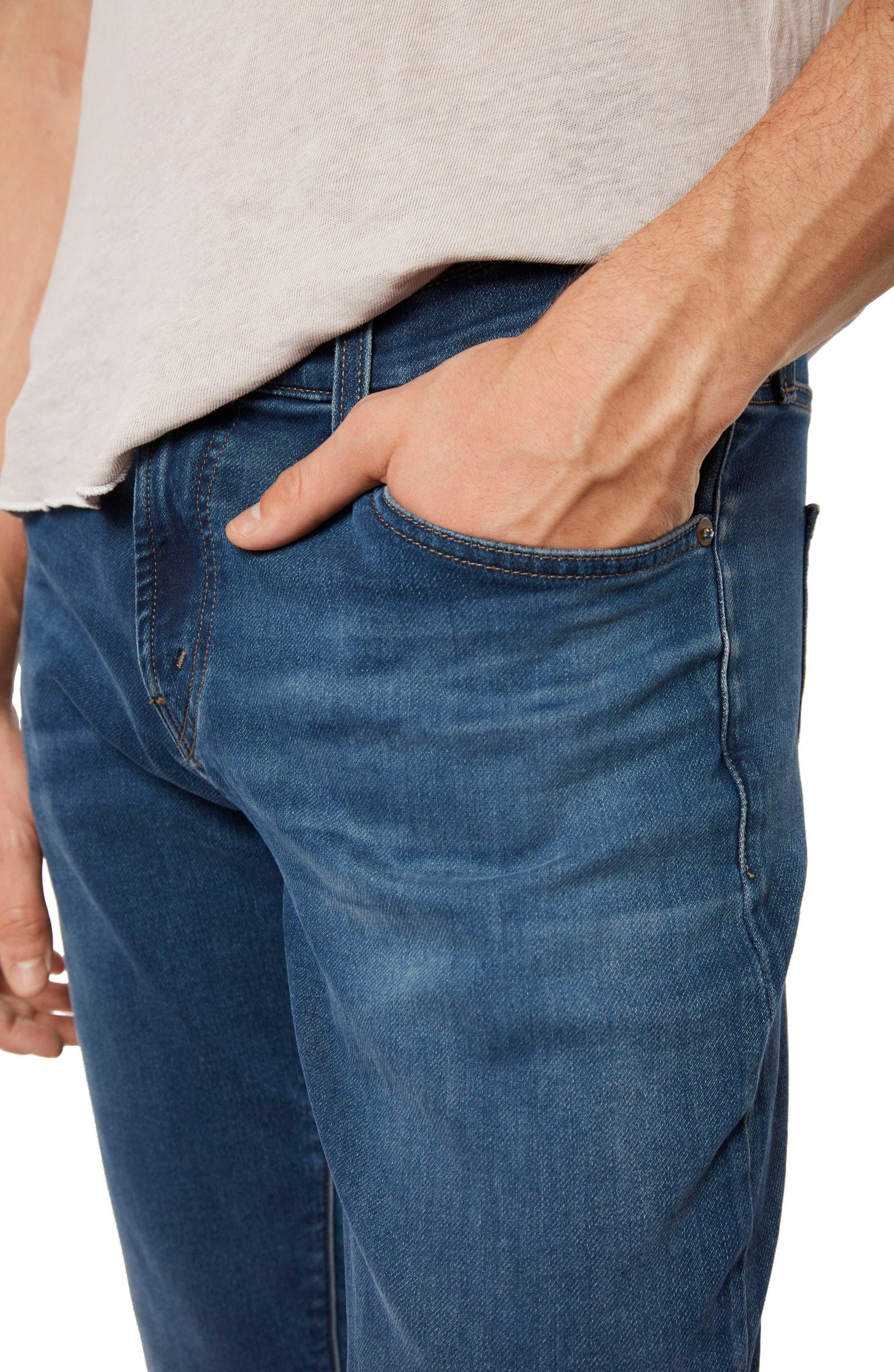 Kane Slim Straight Leg Jeans,                             Alternate thumbnail 4, color,                             454