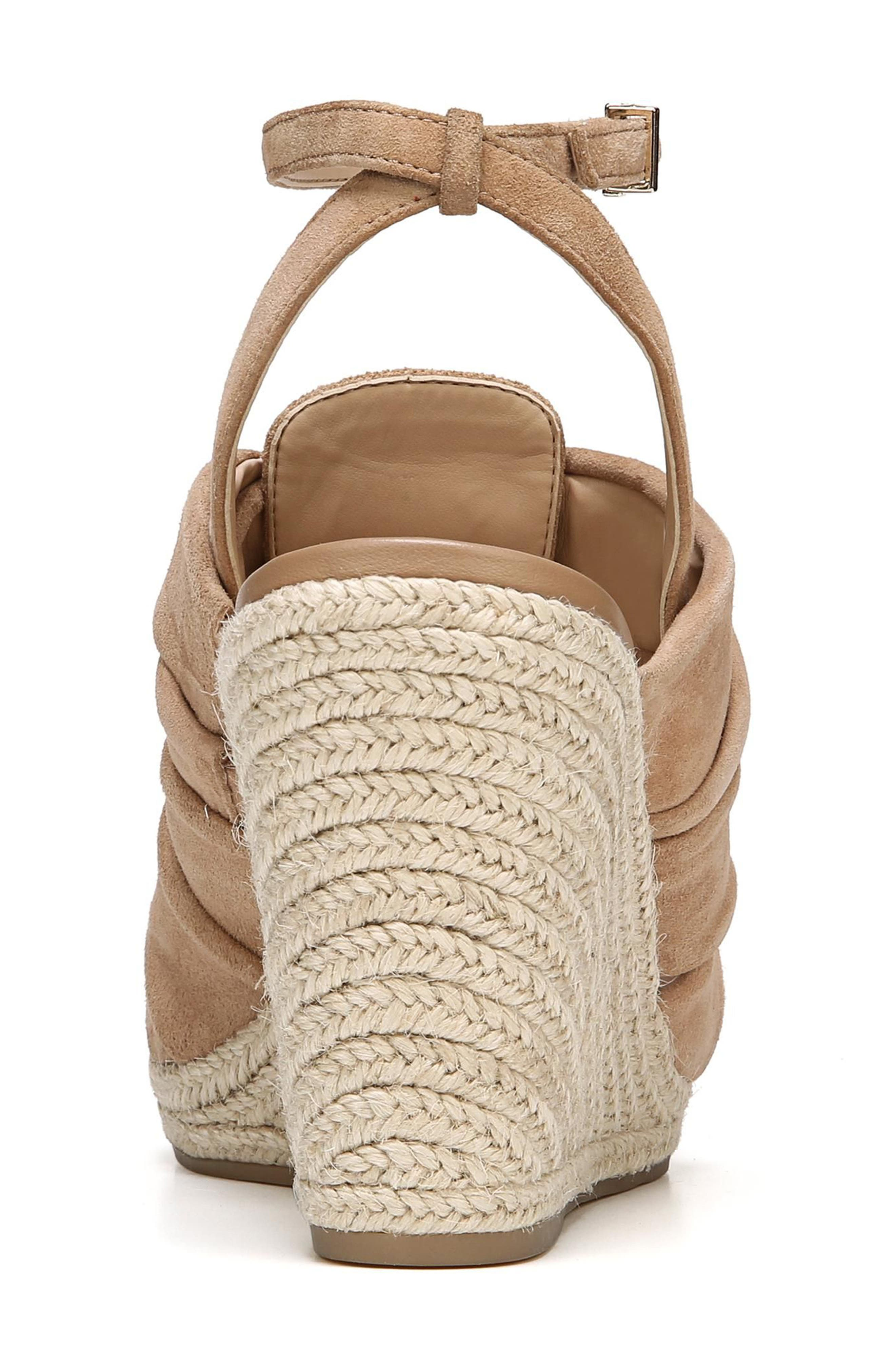 Awan Cinched Wedge Sandal,                             Alternate thumbnail 16, color,