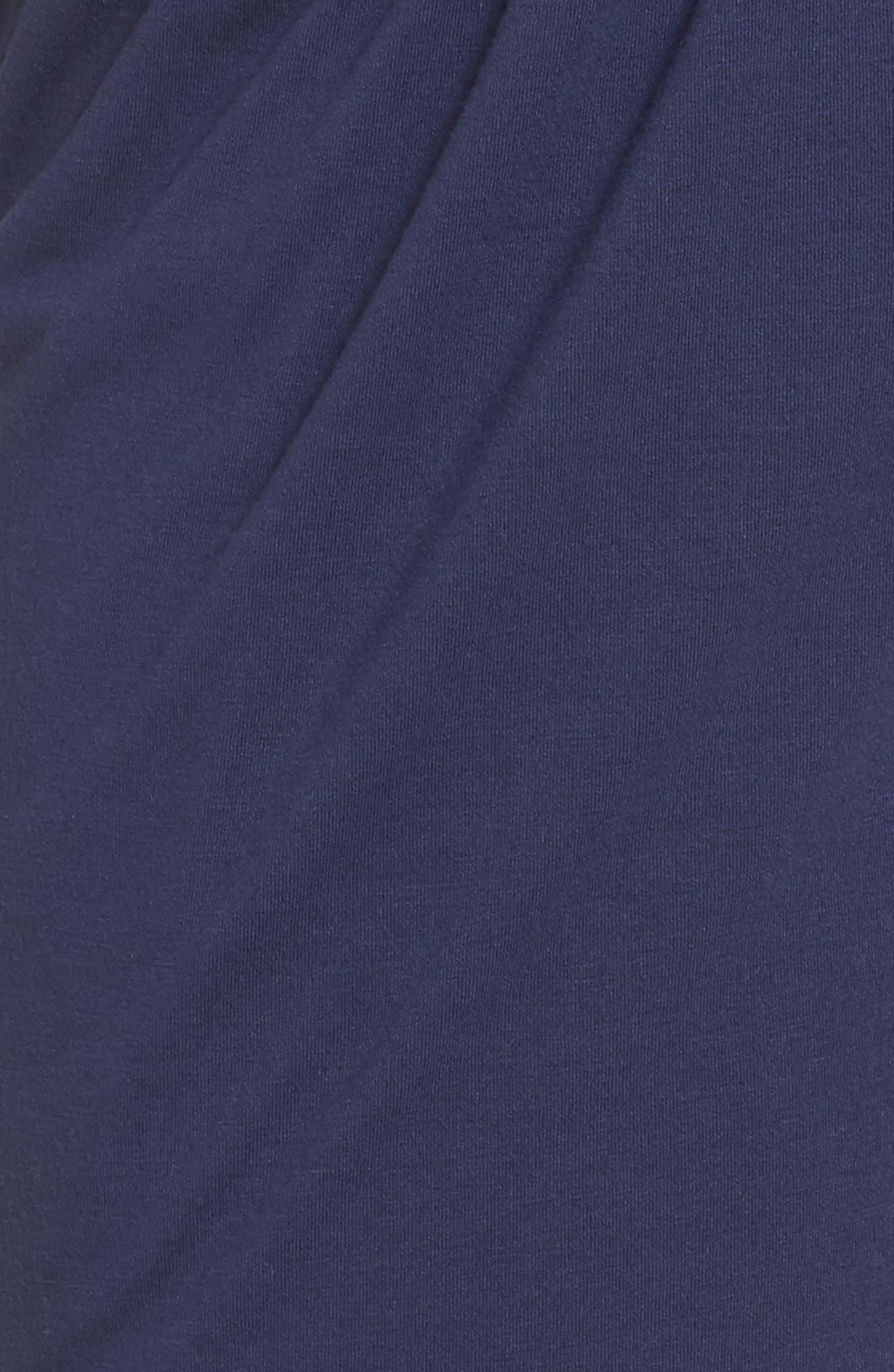 Foldover Waist Tulip Pants,                             Alternate thumbnail 6, color,                             THUNDER