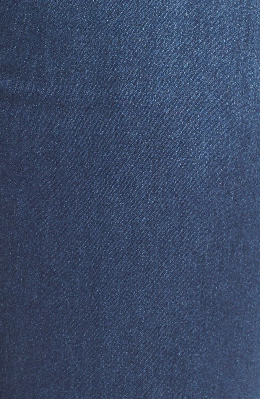 Crop Flare Jeans,                             Alternate thumbnail 3, color,                             400