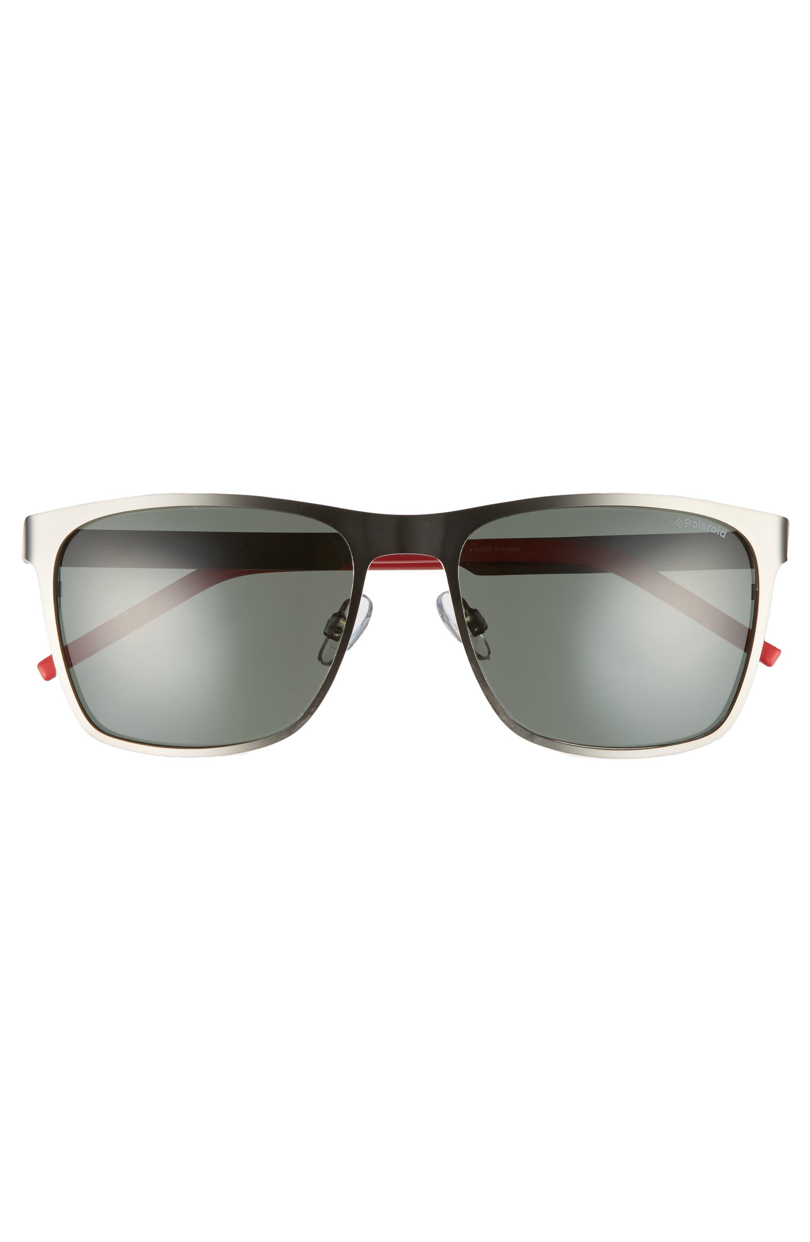 Polaroid 57mm Polarized Sunglasses,                             Alternate thumbnail 2, color,                             001
