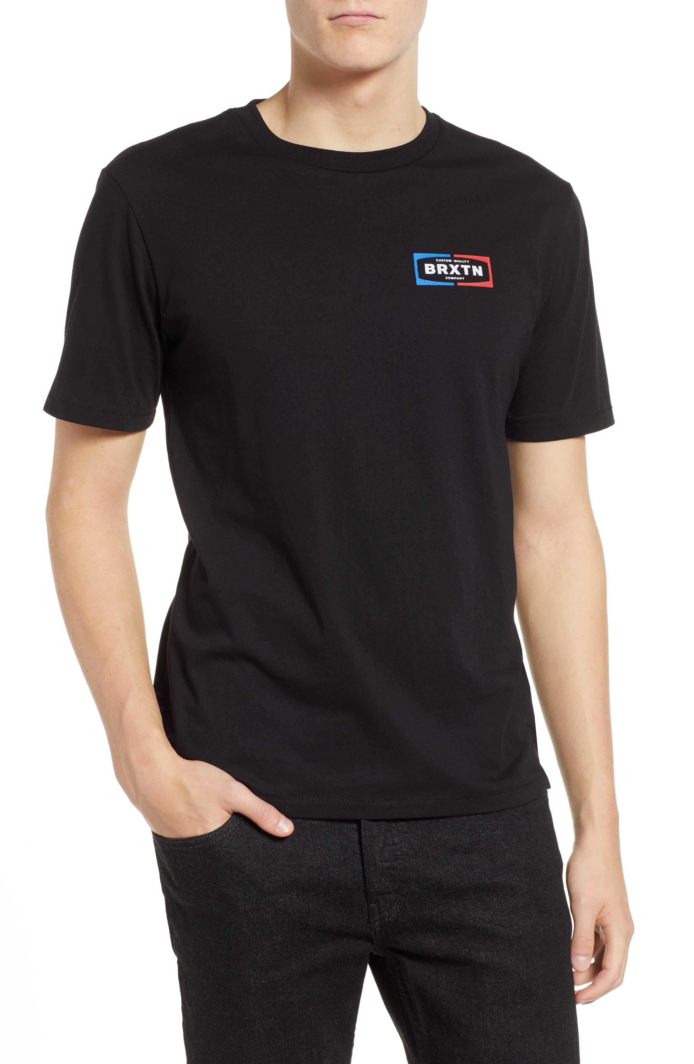 Dozer Logo T-Shirt,                             Main thumbnail 1, color,                             BLACK
