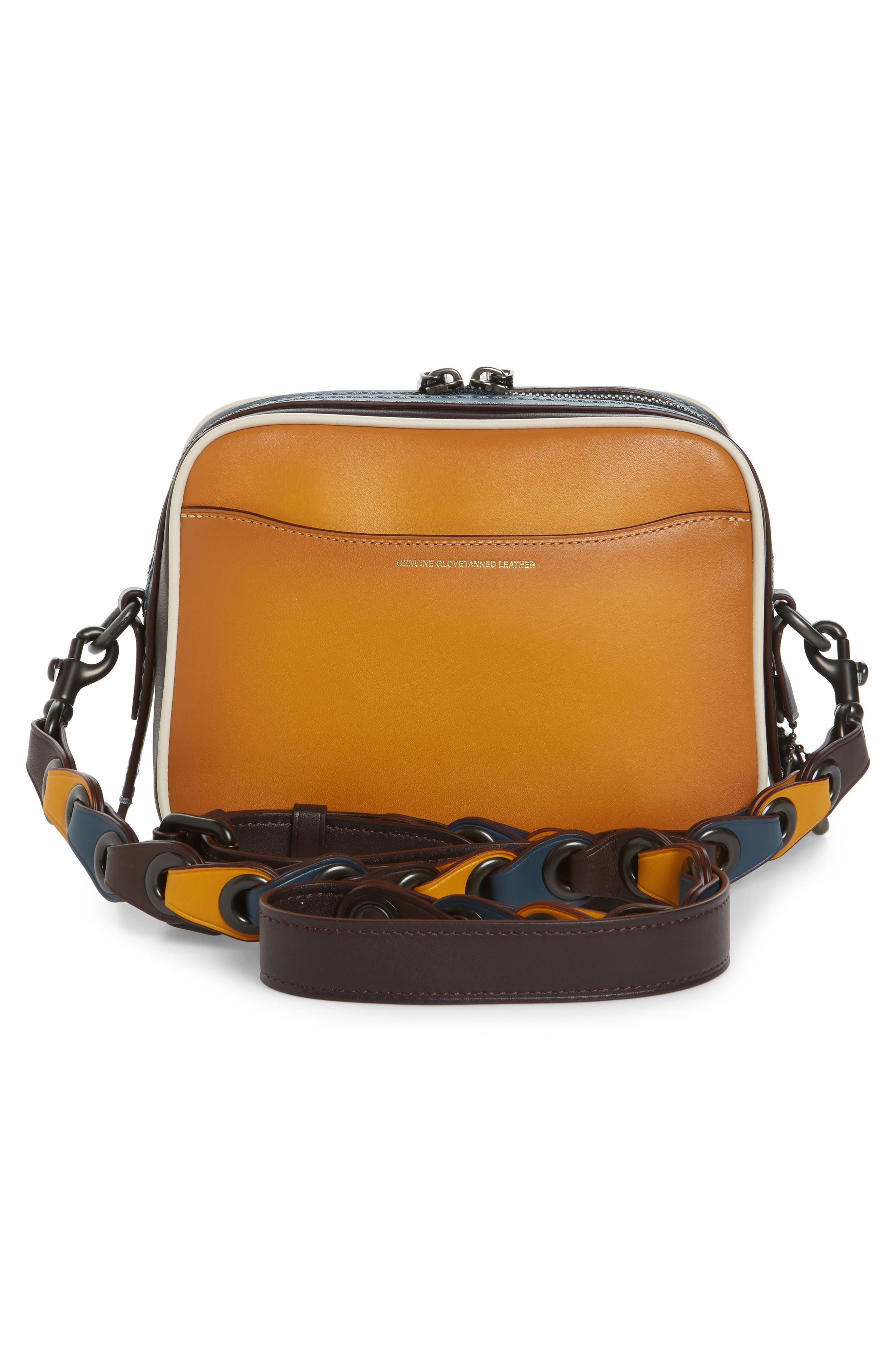 Rexy Leather Crossbody Bag,                             Alternate thumbnail 3, color,                             720