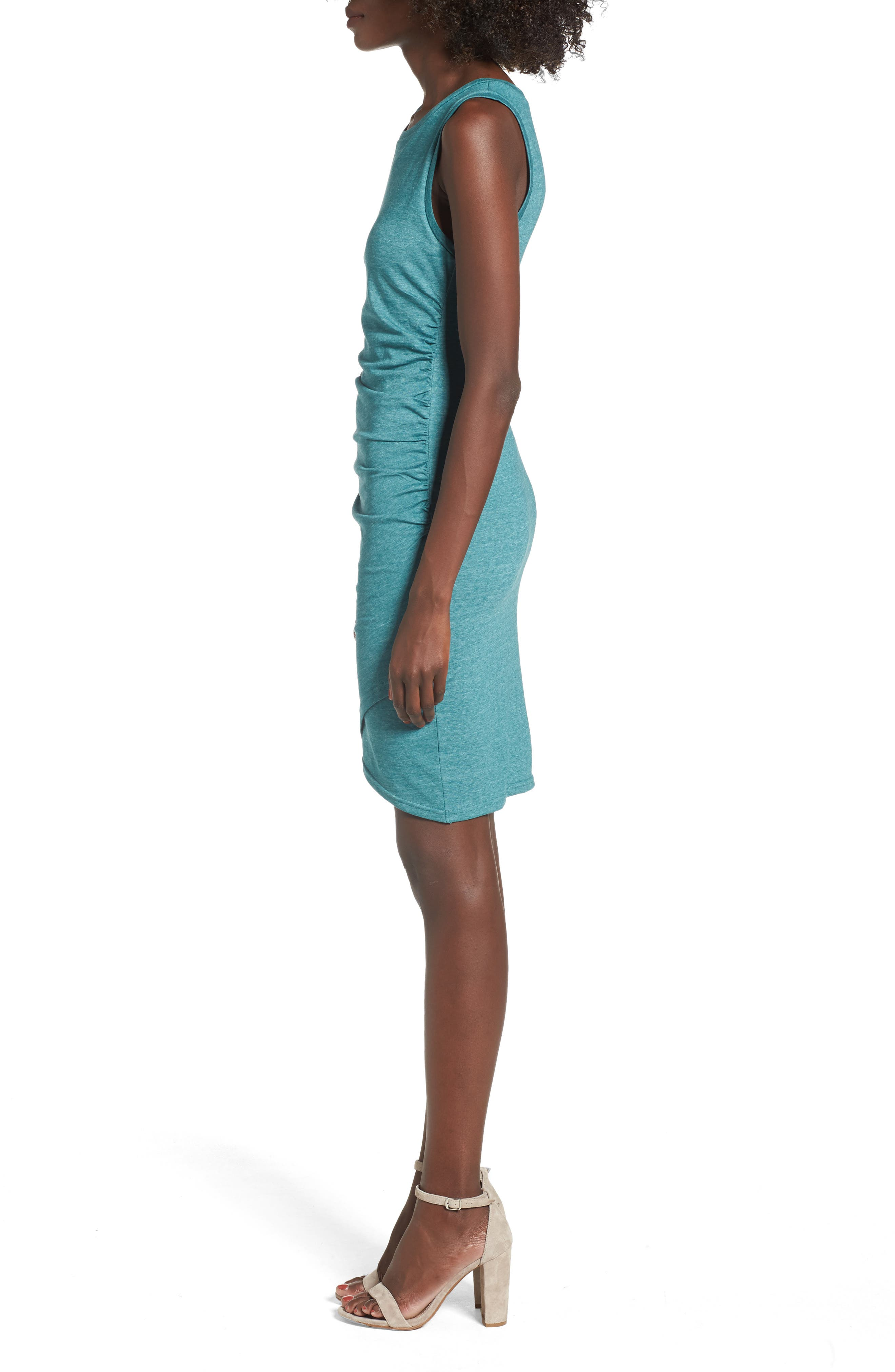 Ruched Body-Con Tank Dress,                             Alternate thumbnail 73, color,