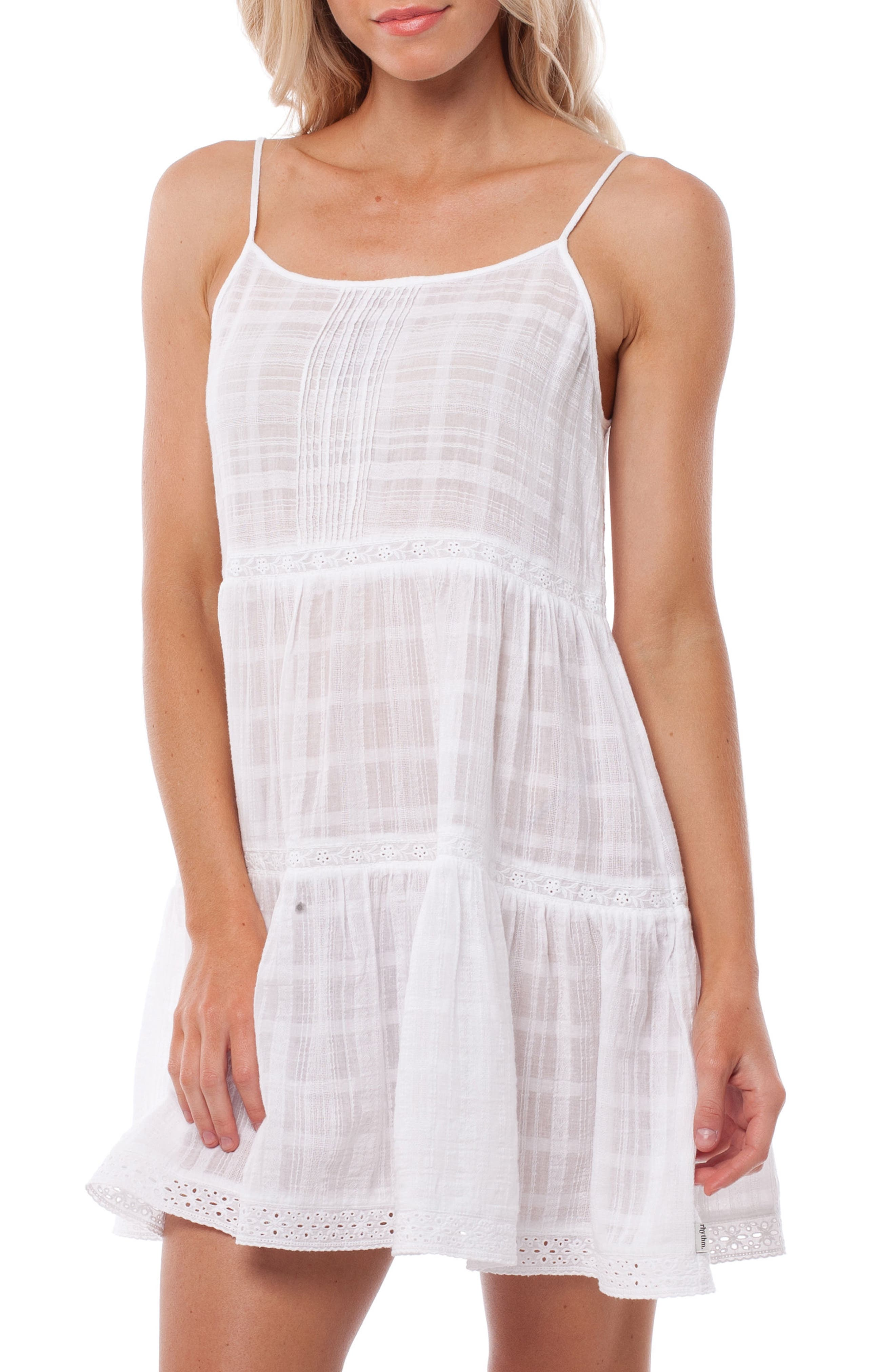 Capetown Cover-Up Dress,                             Main thumbnail 1, color,                             WHITE