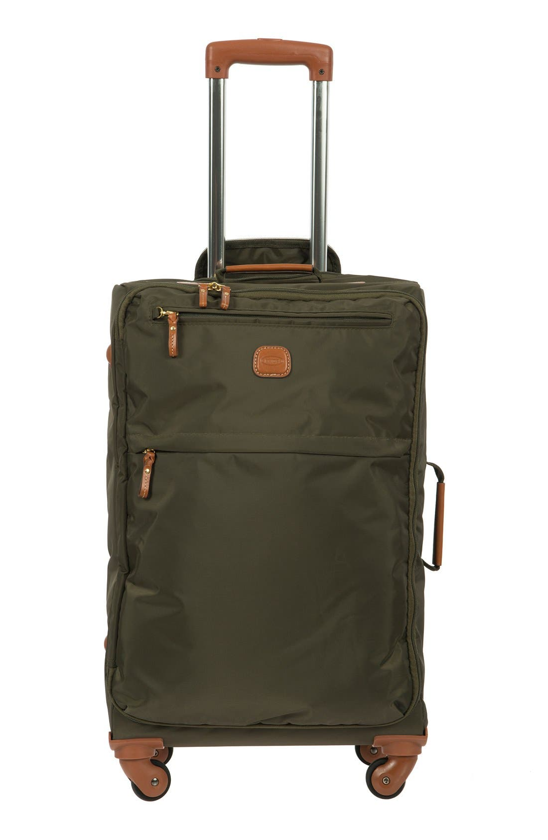X-Bag 25-Inch Spinner Suitcase,                         Main,                         color, OLIVE