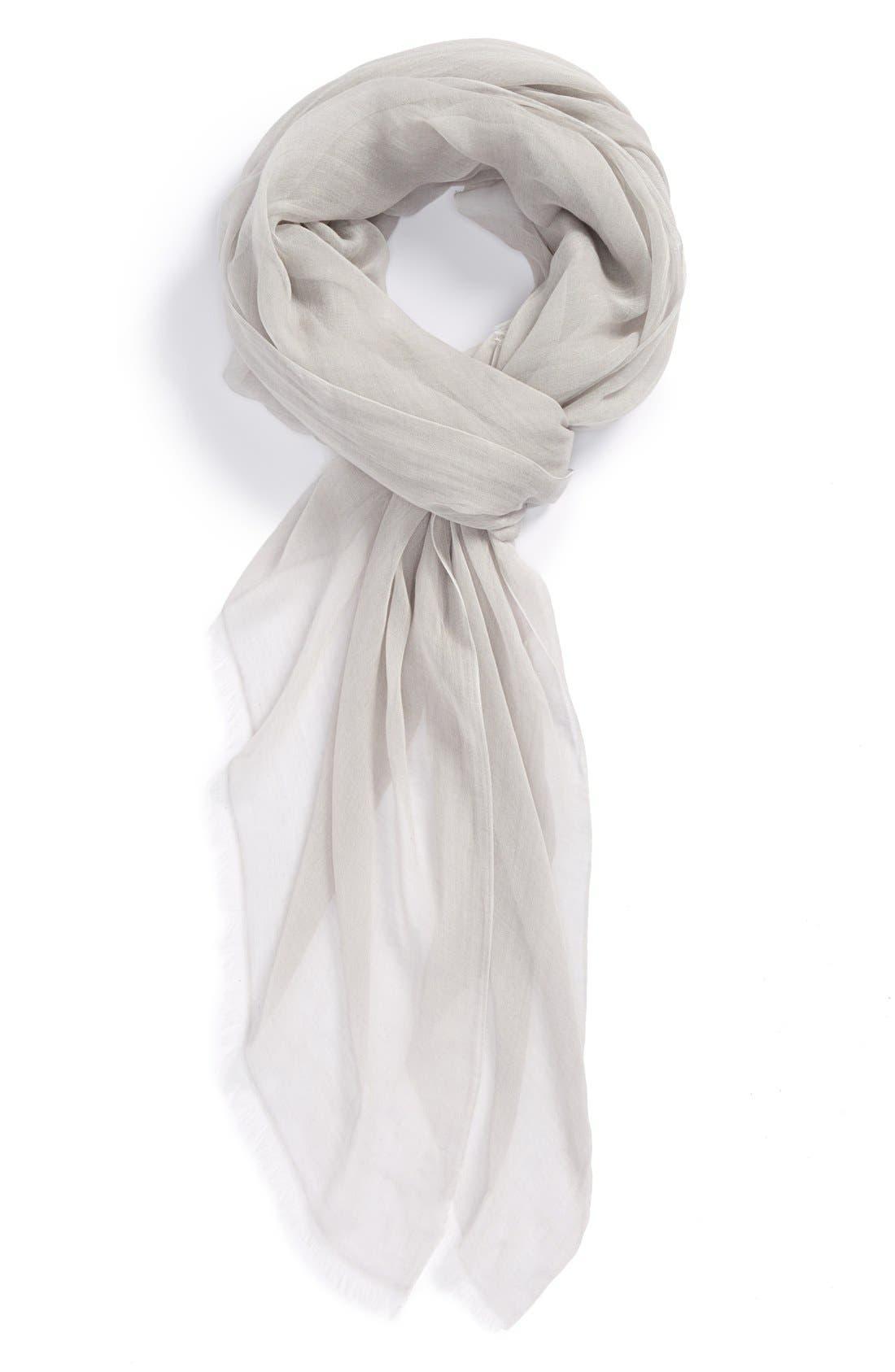 Modal Silk Blend Scarf,                             Main thumbnail 8, color,