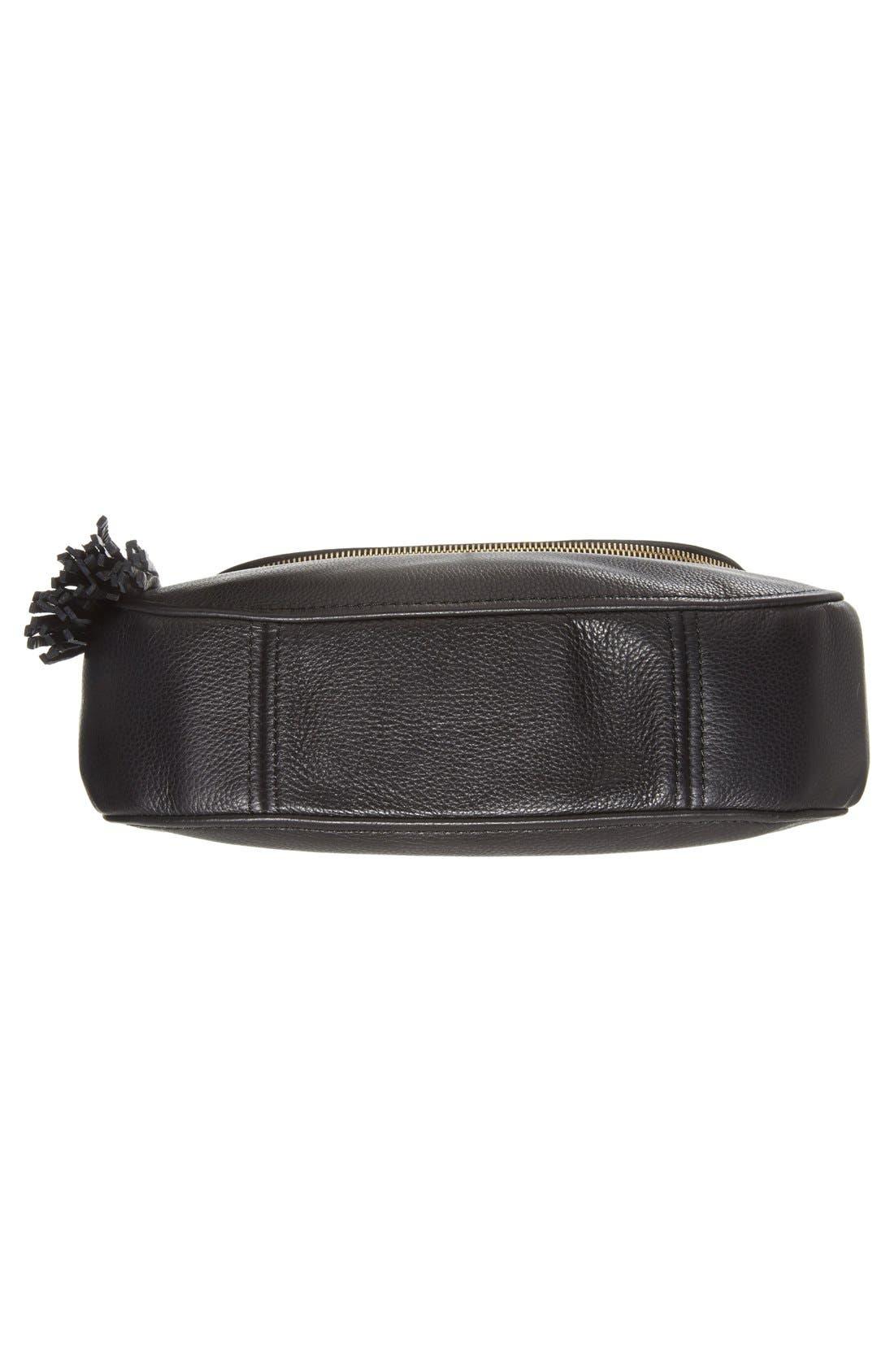 'Bedford Tassel - Medium' Convertible Leather Shoulder Bag,                             Alternate thumbnail 2, color,                             005