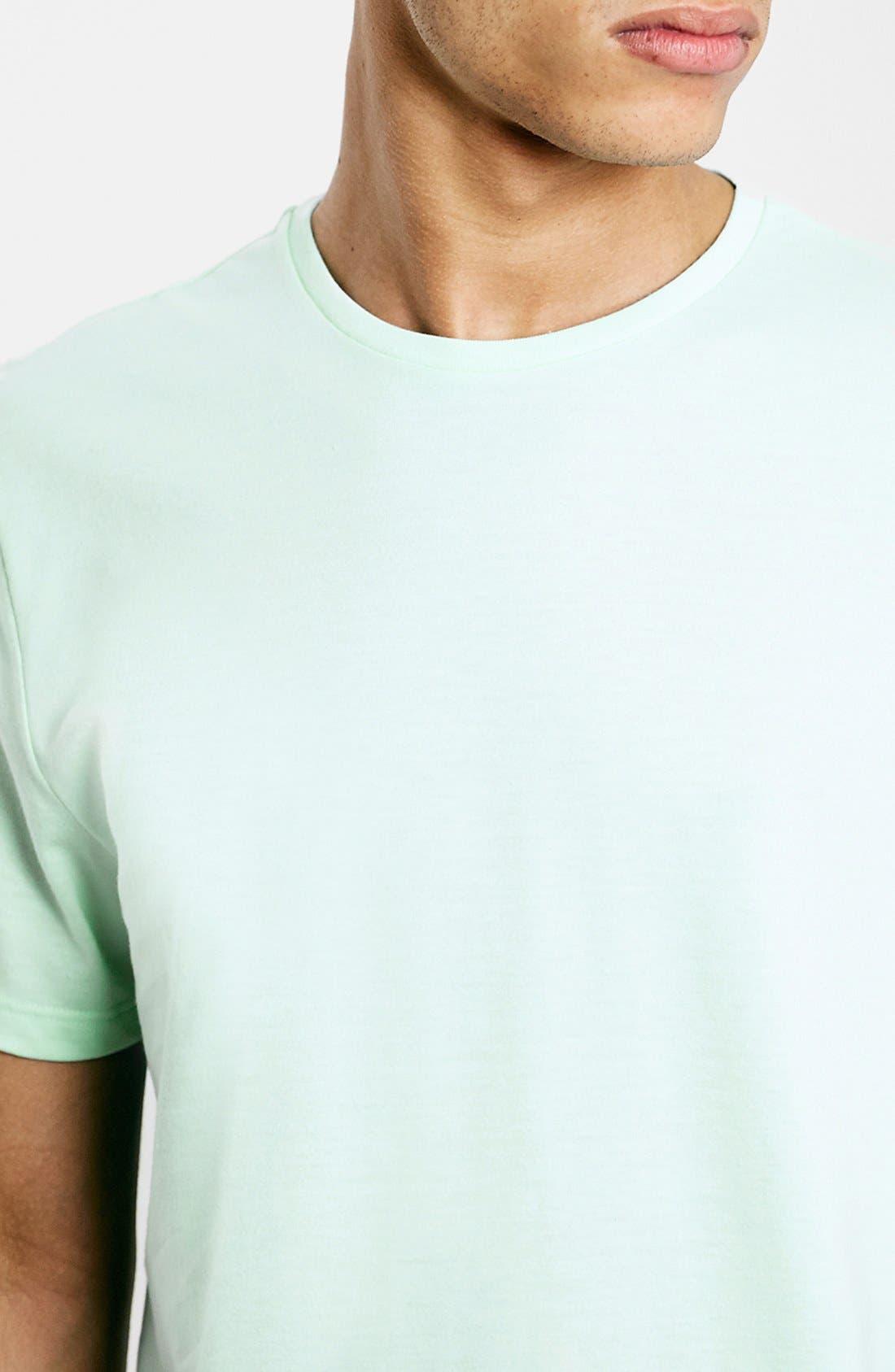 Slim Fit Crewneck T-Shirt,                             Alternate thumbnail 337, color,