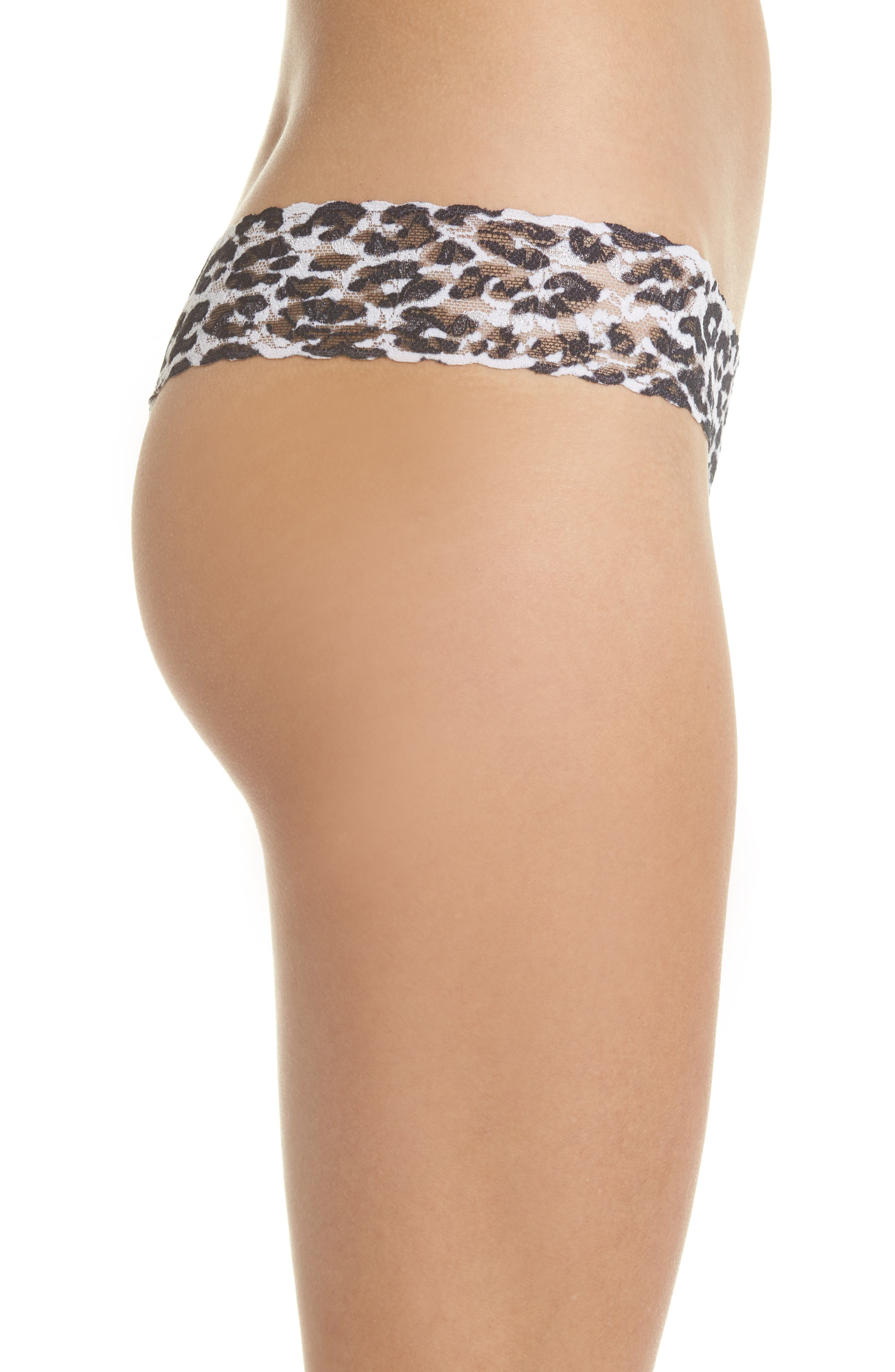 Print Low Rise Thong,                             Alternate thumbnail 39, color,