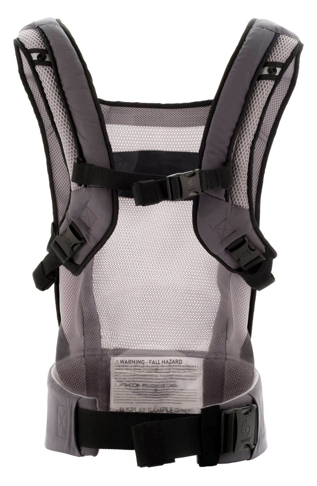 ERGOBABY,                             'Performance' Baby Carrier,                             Alternate thumbnail 4, color,                             025