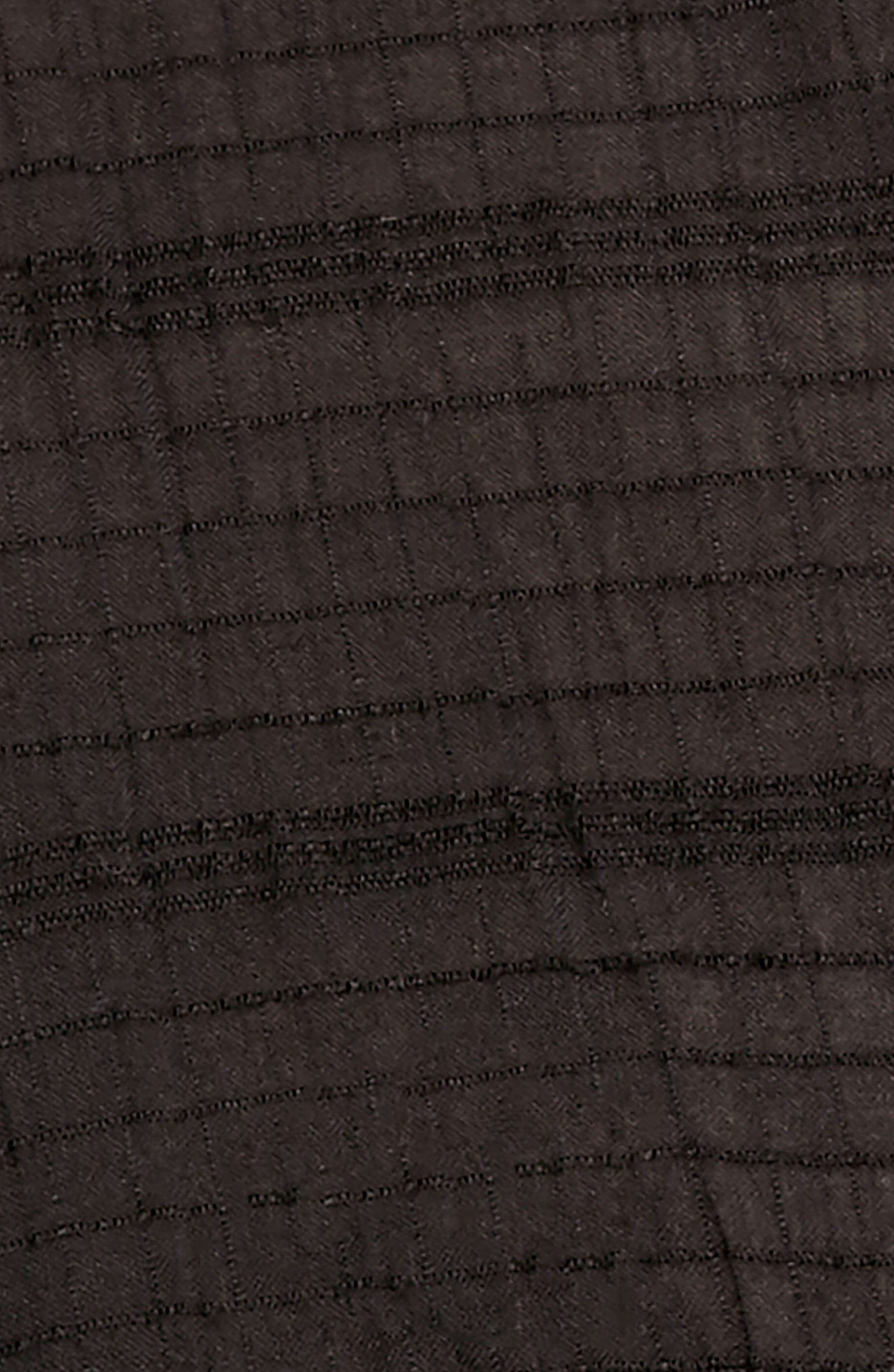 Beaumont Mews Blouse,                             Alternate thumbnail 4, color,                             BLACK