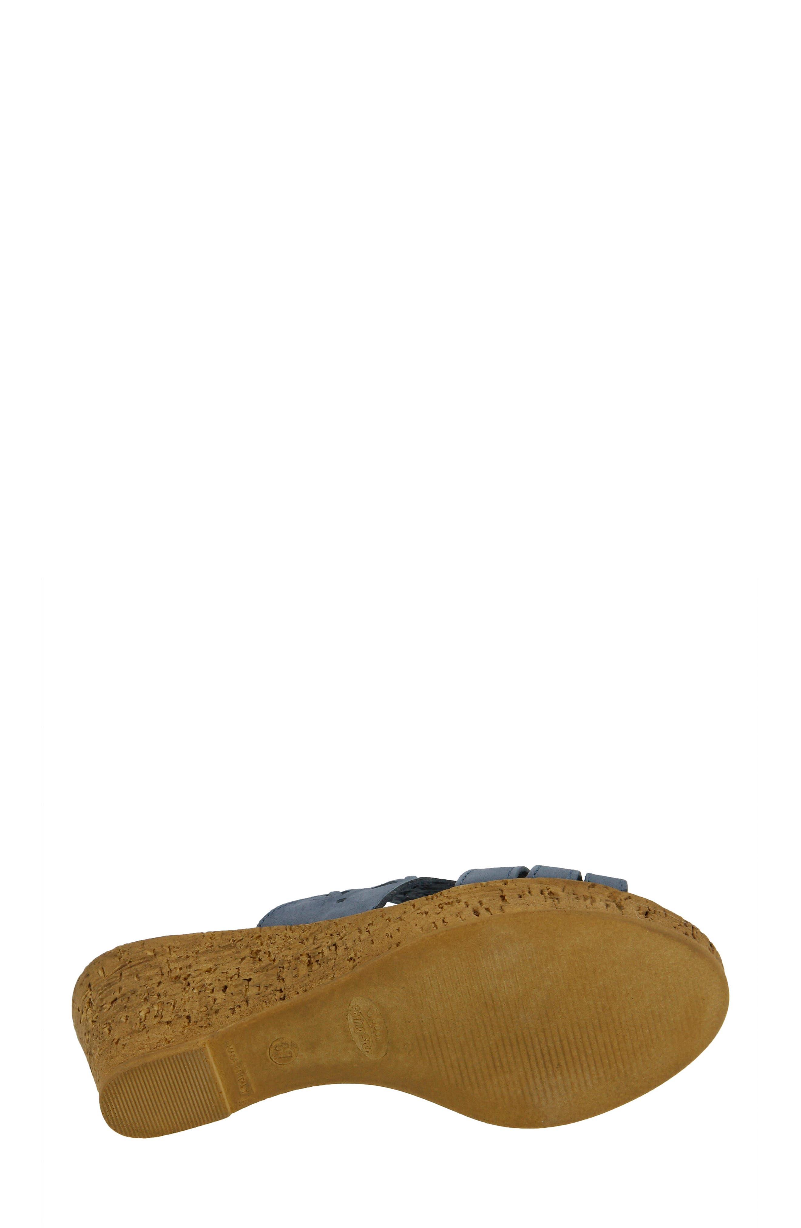 Dora Wedge Sandal,                             Alternate thumbnail 5, color,