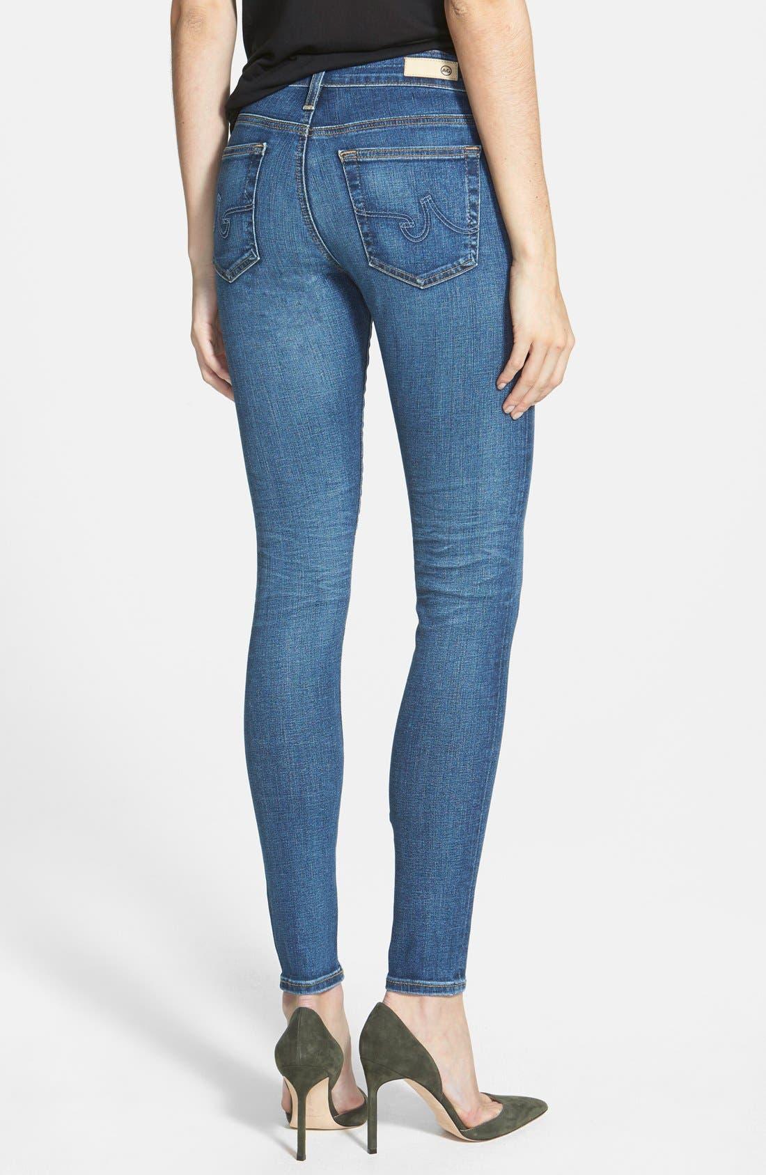 'The Farrah' High Rise Skinny Jeans,                             Alternate thumbnail 28, color,