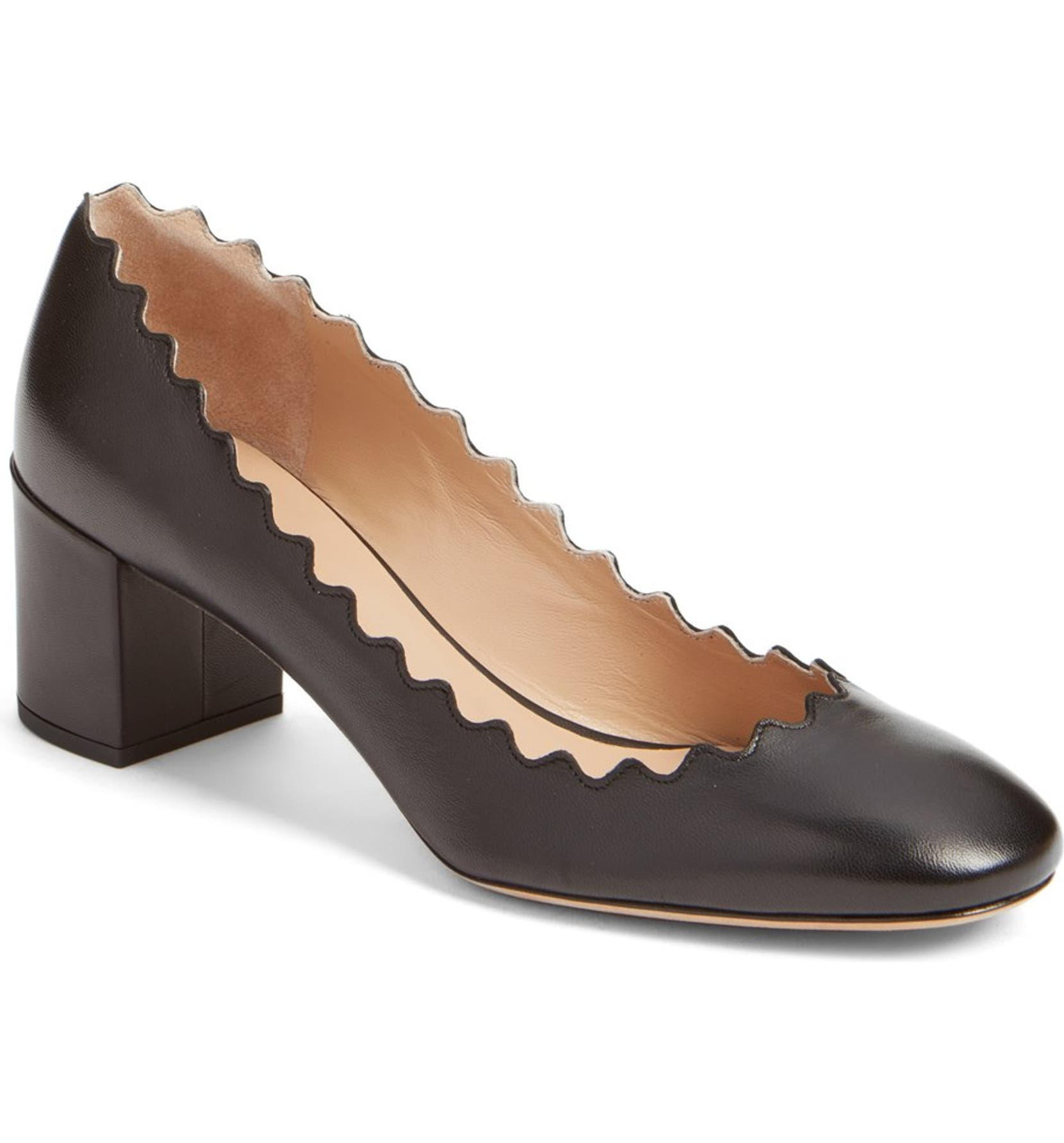 e09c70a3bda Chloé Lauren Scalloped Pump (Women)