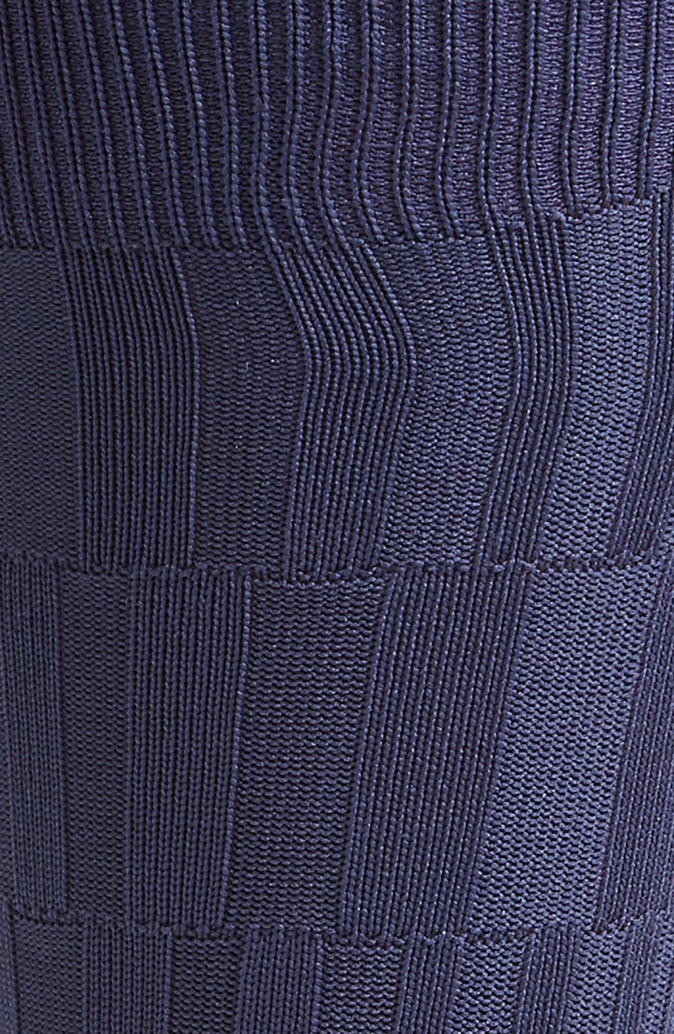 Bar Texture Socks,                             Alternate thumbnail 4, color,