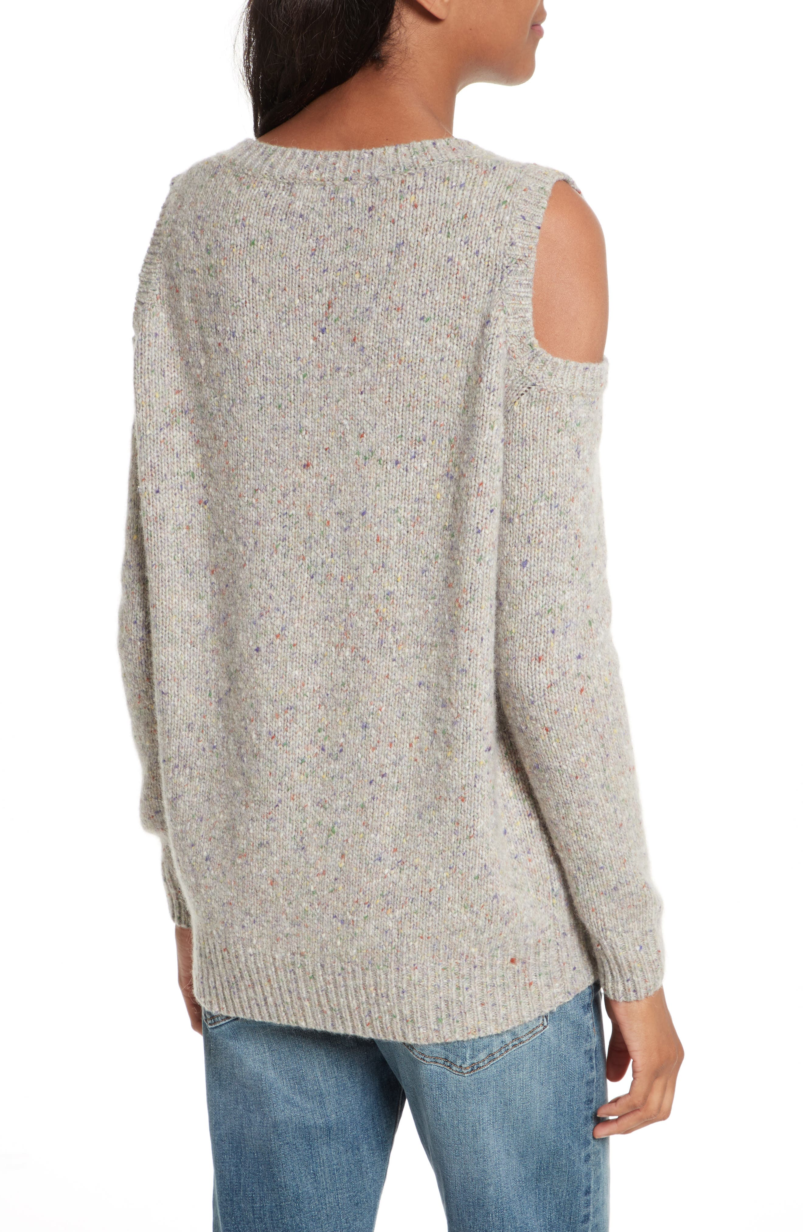 Page Cold Shoulder Sweater,                             Alternate thumbnail 10, color,