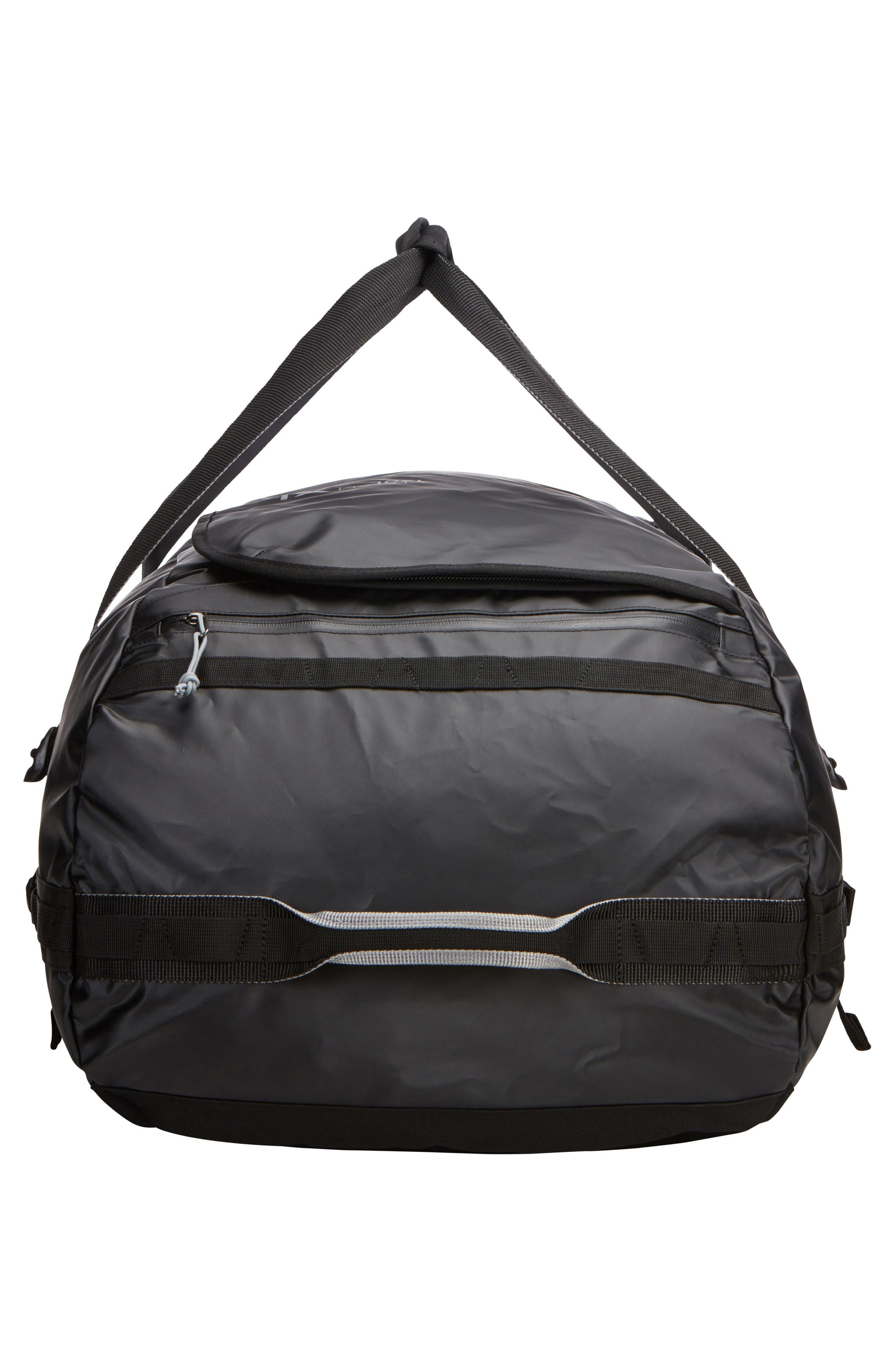 Chasm 130-Liter Convertible Duffel Bag,                             Alternate thumbnail 5, color,                             BLACK