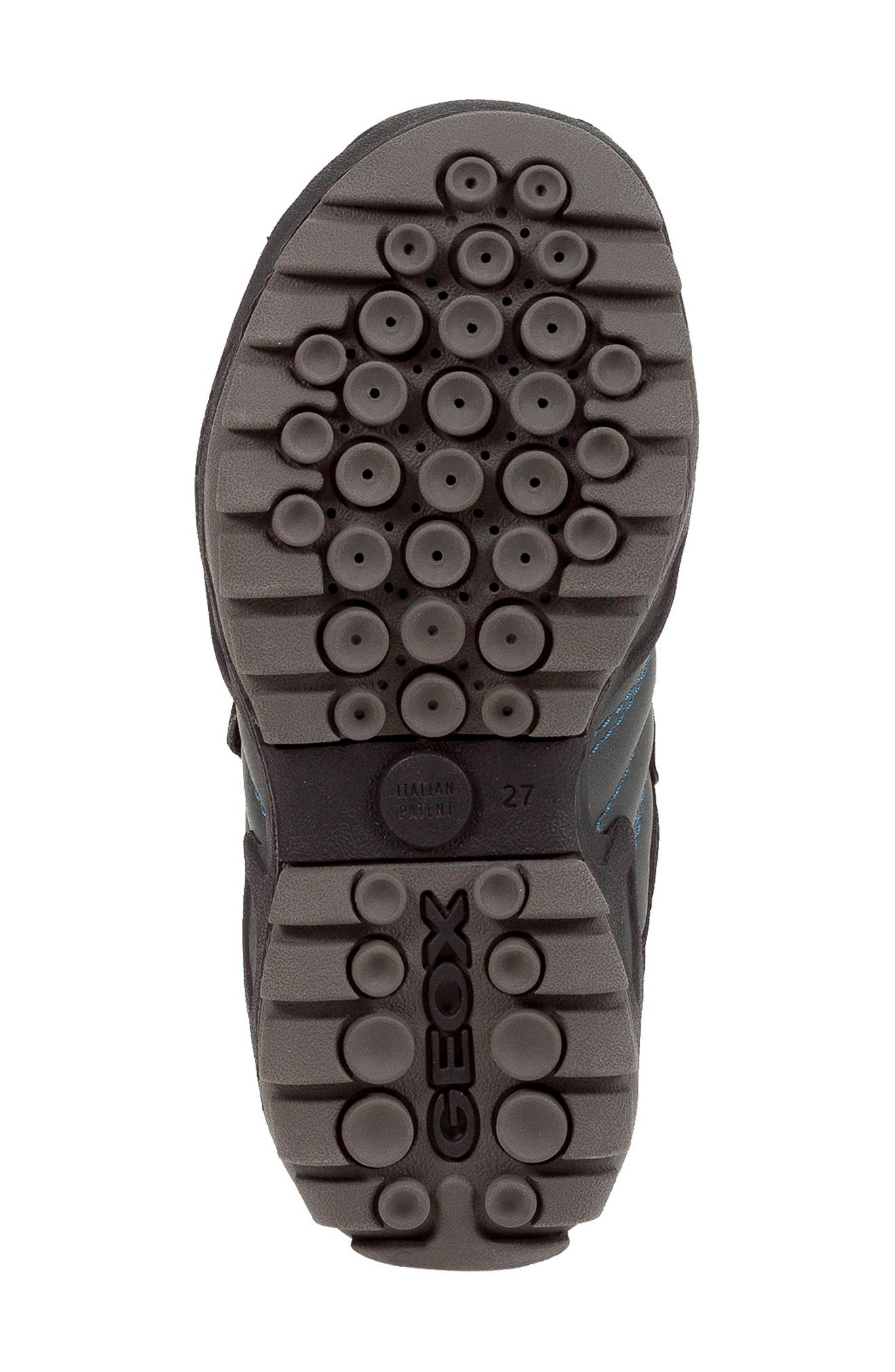 New Savage Sneaker,                             Alternate thumbnail 6, color,                             DARK GREY/PETROL