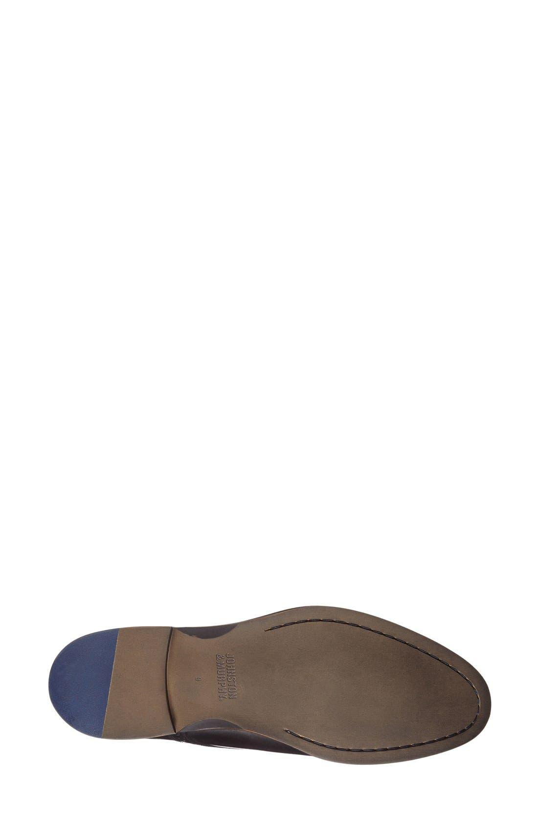 Conard Plain Toe Derby,                             Alternate thumbnail 4, color,                             BLACK