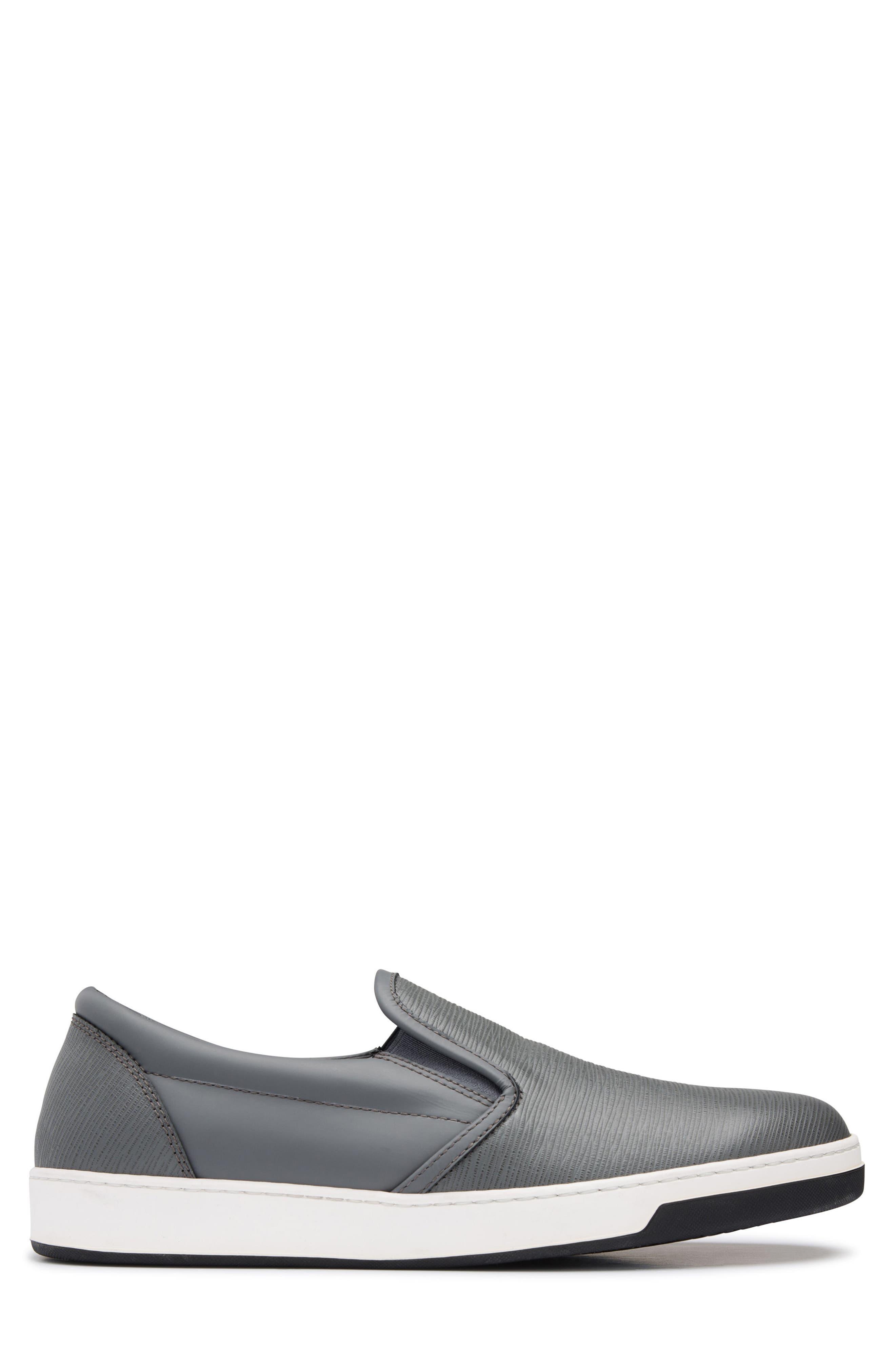 Santorini Slip-On Sneaker,                             Alternate thumbnail 3, color,                             GRAFITE