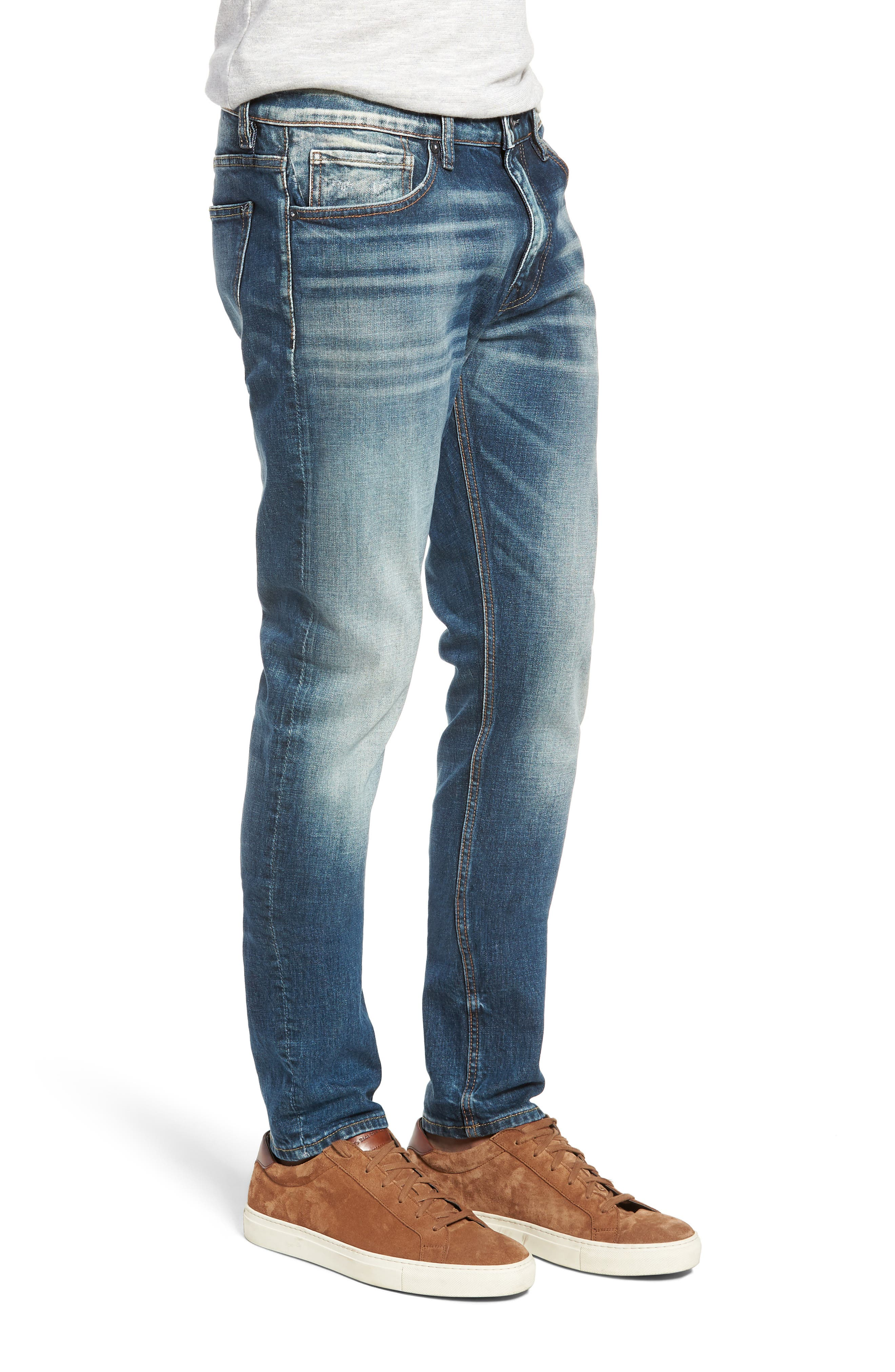 Jude Slim Fit Jeans,                             Alternate thumbnail 3, color,                             409