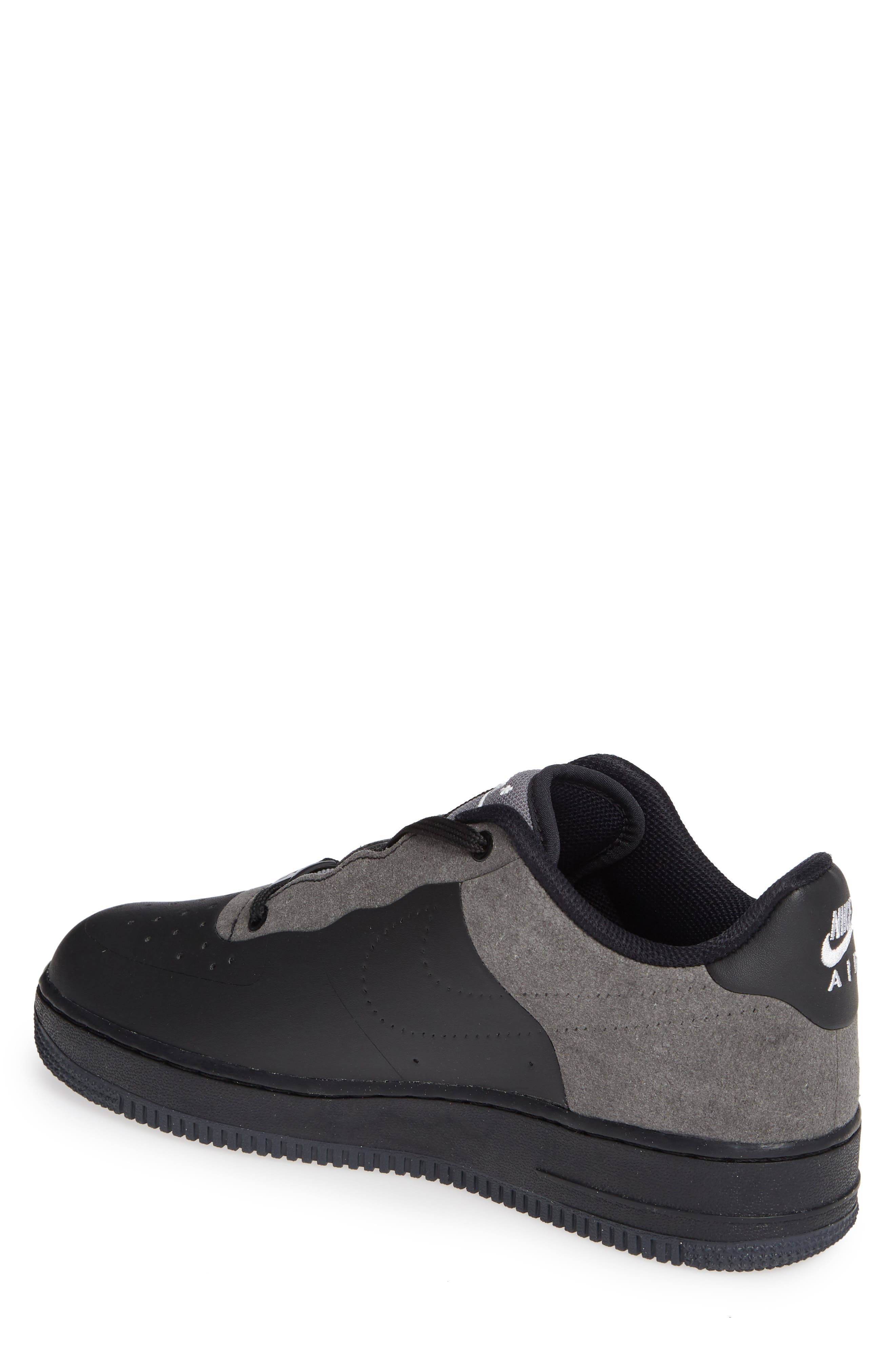 x A-COLD-WALL Air Force 1 '07 Sneaker,                             Alternate thumbnail 2, color,                             BLACK/ WHITE/ DARK GREY