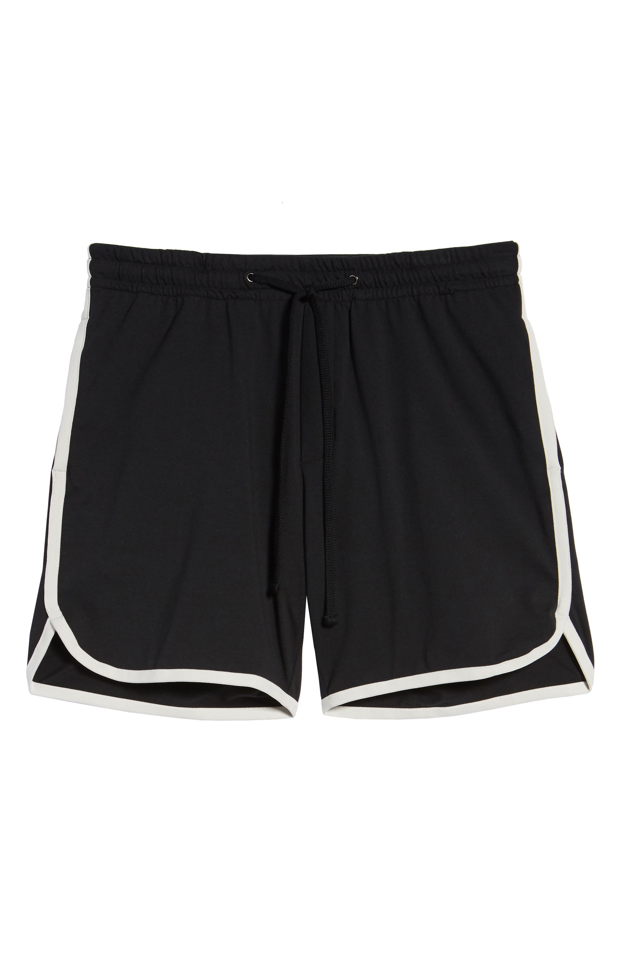 Vintage Regular Fit Gym Shorts,                             Alternate thumbnail 6, color,                             001