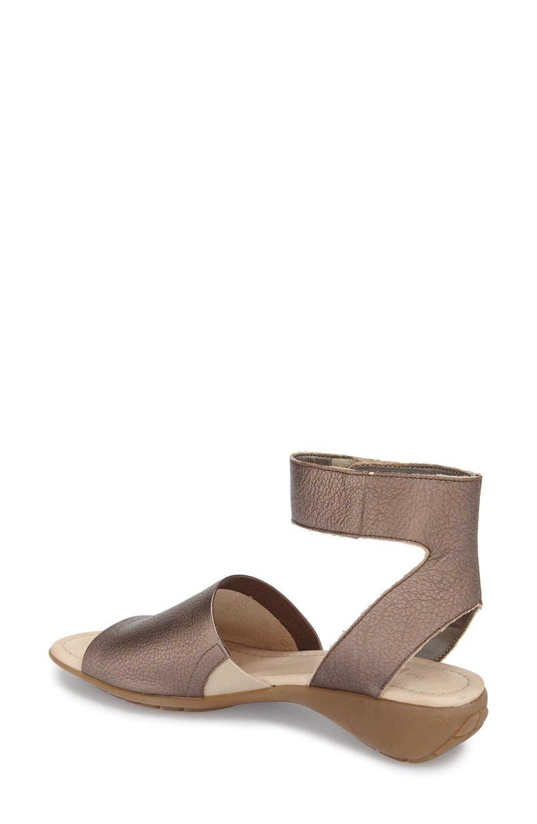 'Beglad' Leather Ankle Strap Sandal,                             Alternate thumbnail 24, color,