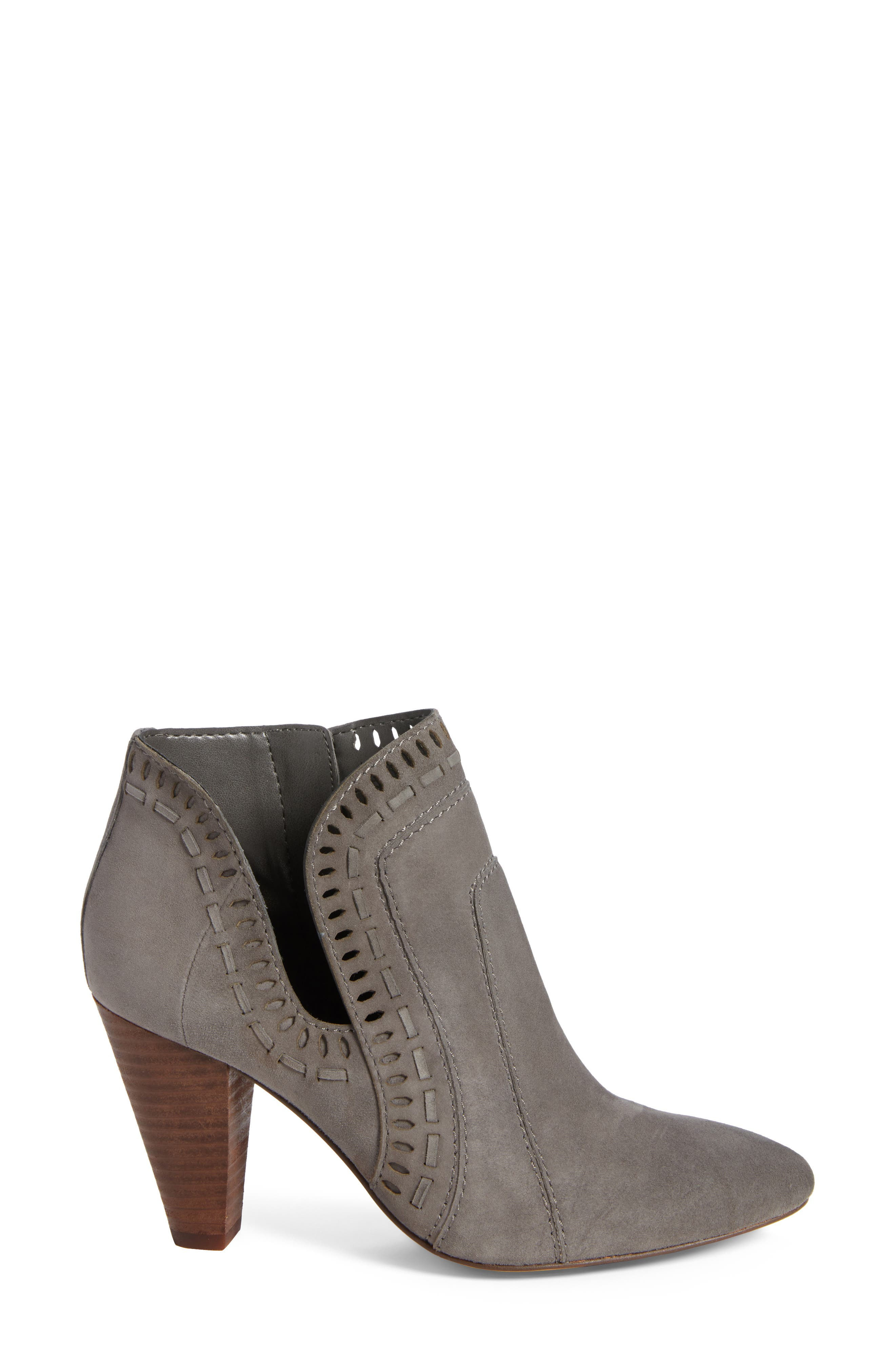 Reeista Bootie,                             Alternate thumbnail 3, color,                             GREYSTONE SUEDE