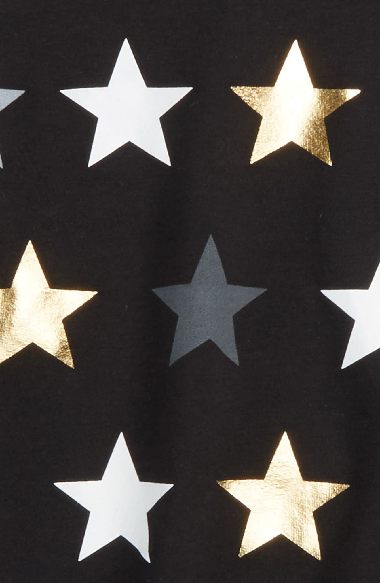 Star Graphic Destructed Sweatshirt,                             Alternate thumbnail 2, color,                             001