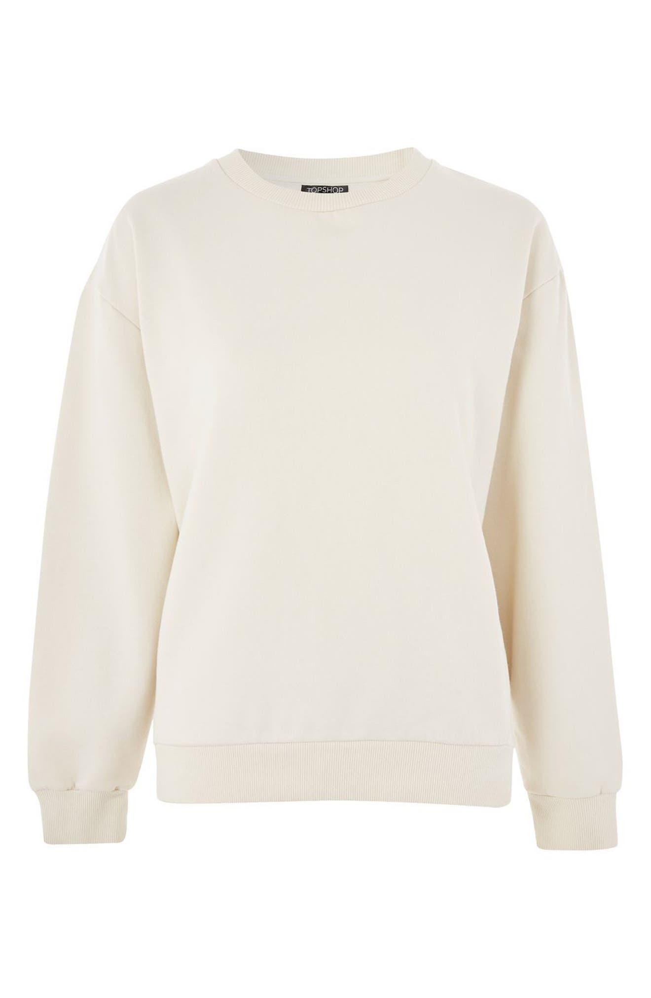 Sloppy Sweatshirt,                             Alternate thumbnail 3, color,                             020