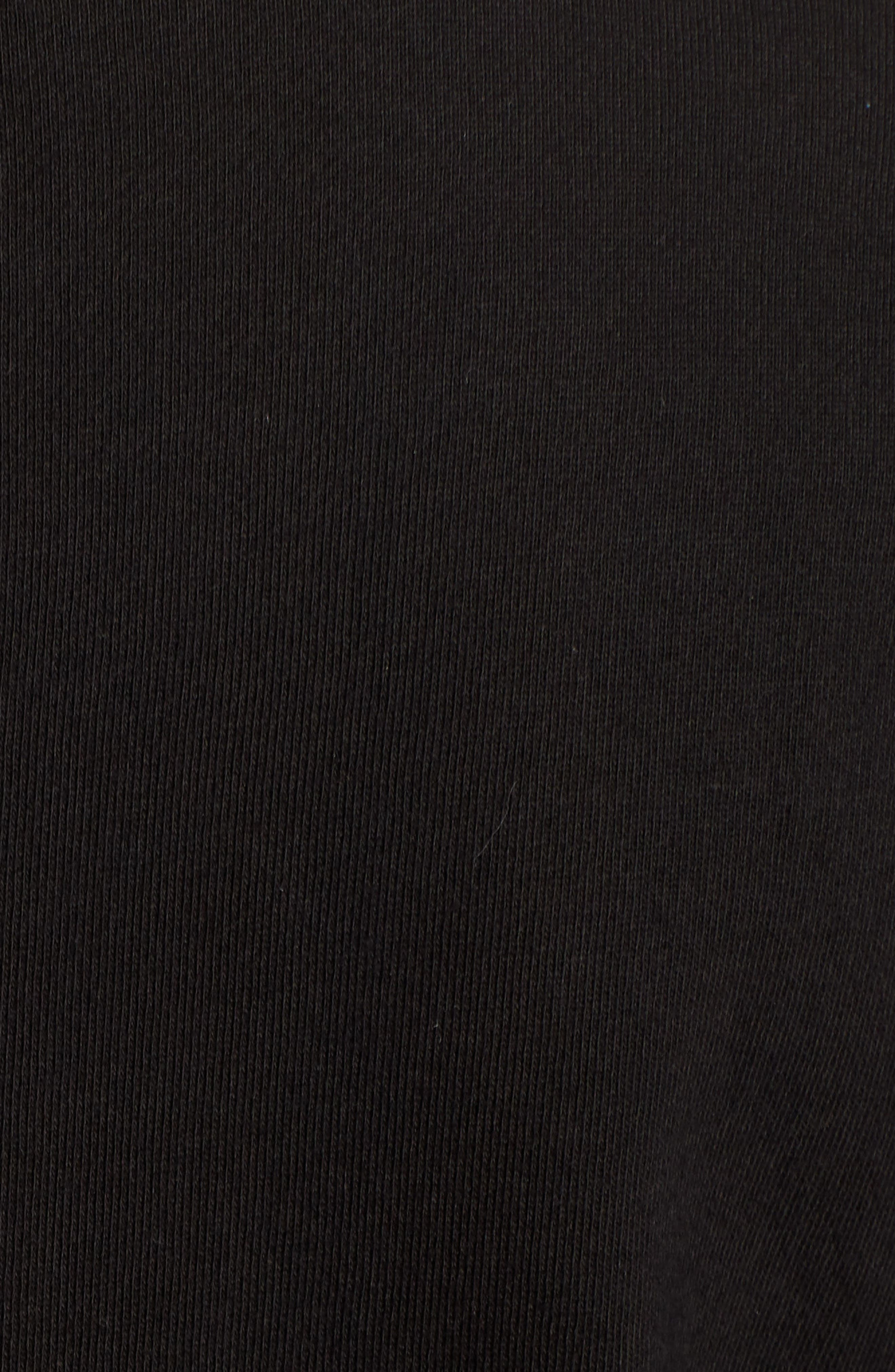 Cotton Blend Knit Blazer,                             Alternate thumbnail 6, color,                             001