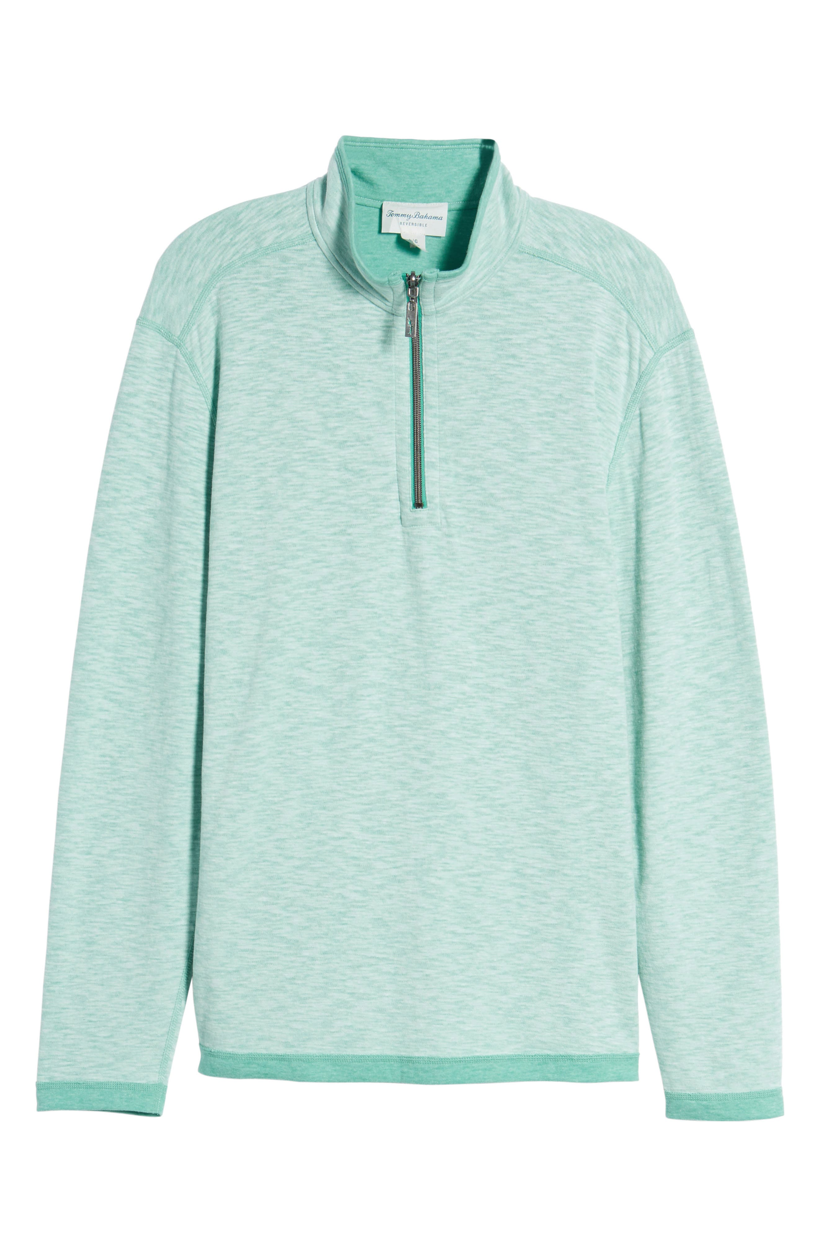 Sea Glass Reversible Quarter Zip Pullover,                             Alternate thumbnail 61, color,