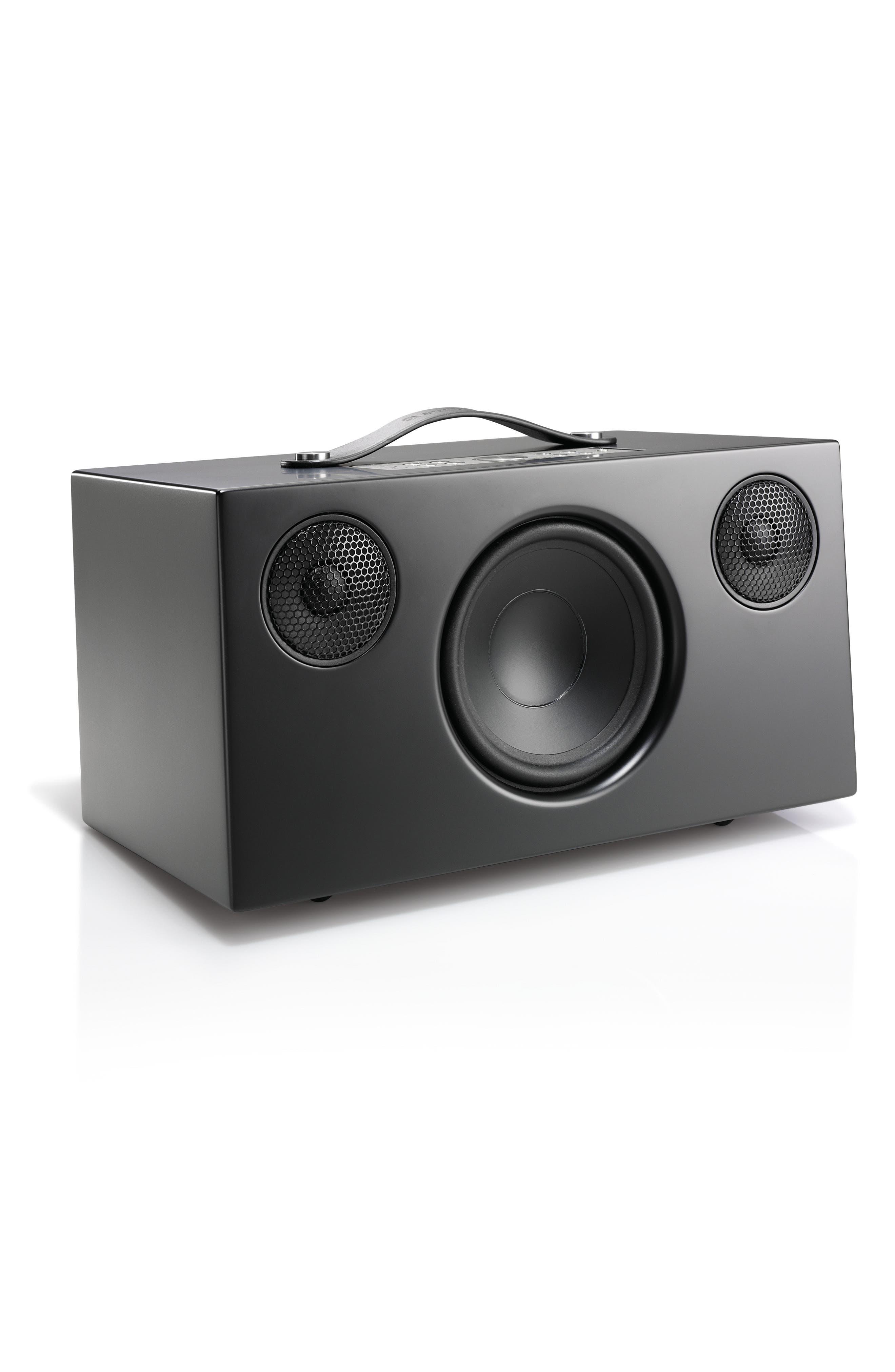 Addon C10 WiFi Multi Room Bluetooth Speaker,                             Alternate thumbnail 3, color,                             COAL BLACK