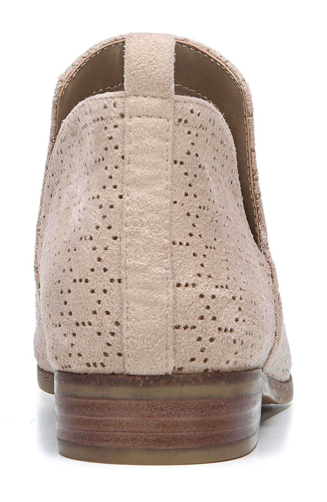 Rate Bootie,                             Alternate thumbnail 6, color,                             PUTTY FABRIC