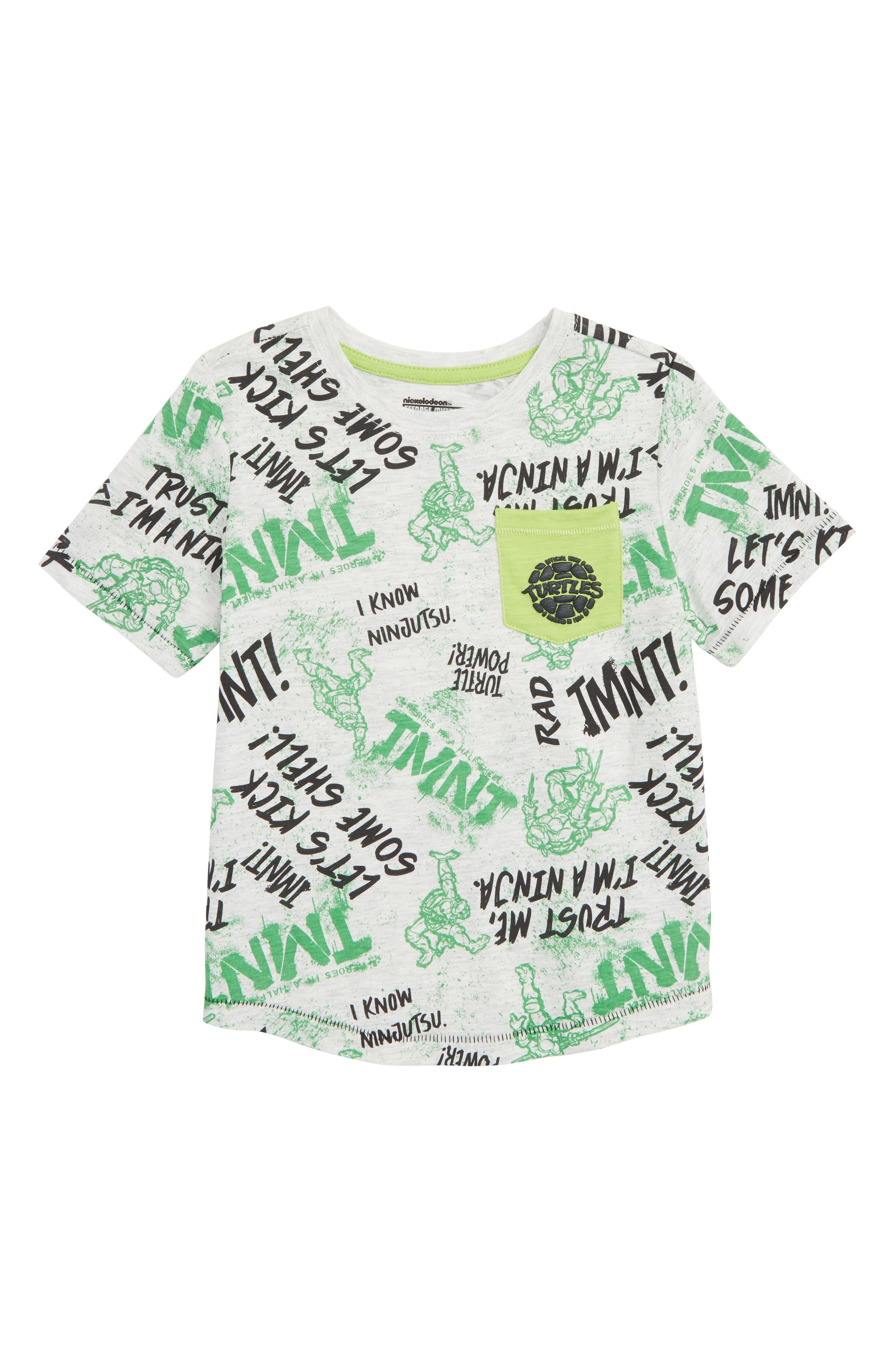 Teenage Mutant Ninja Turtles T-Shirt,                         Main,                         color, 300