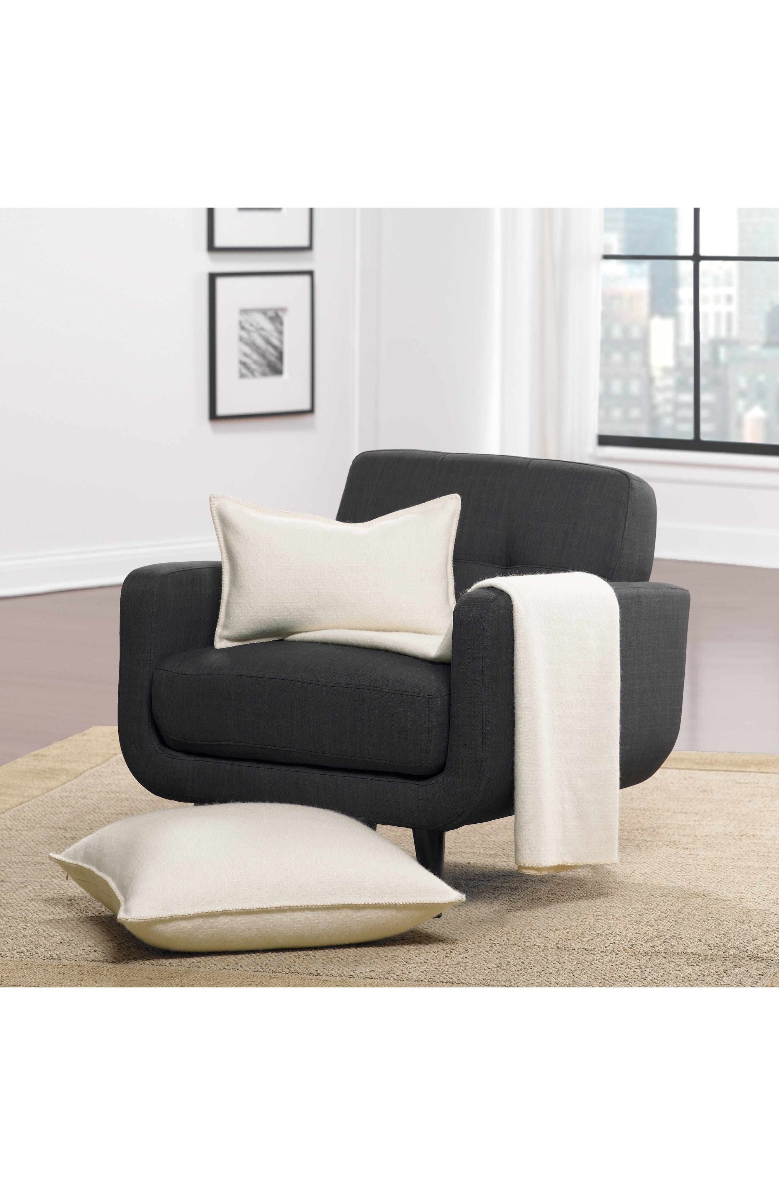 Basketweave Alpaca Accent Pillow,                         Main,                         color, 900