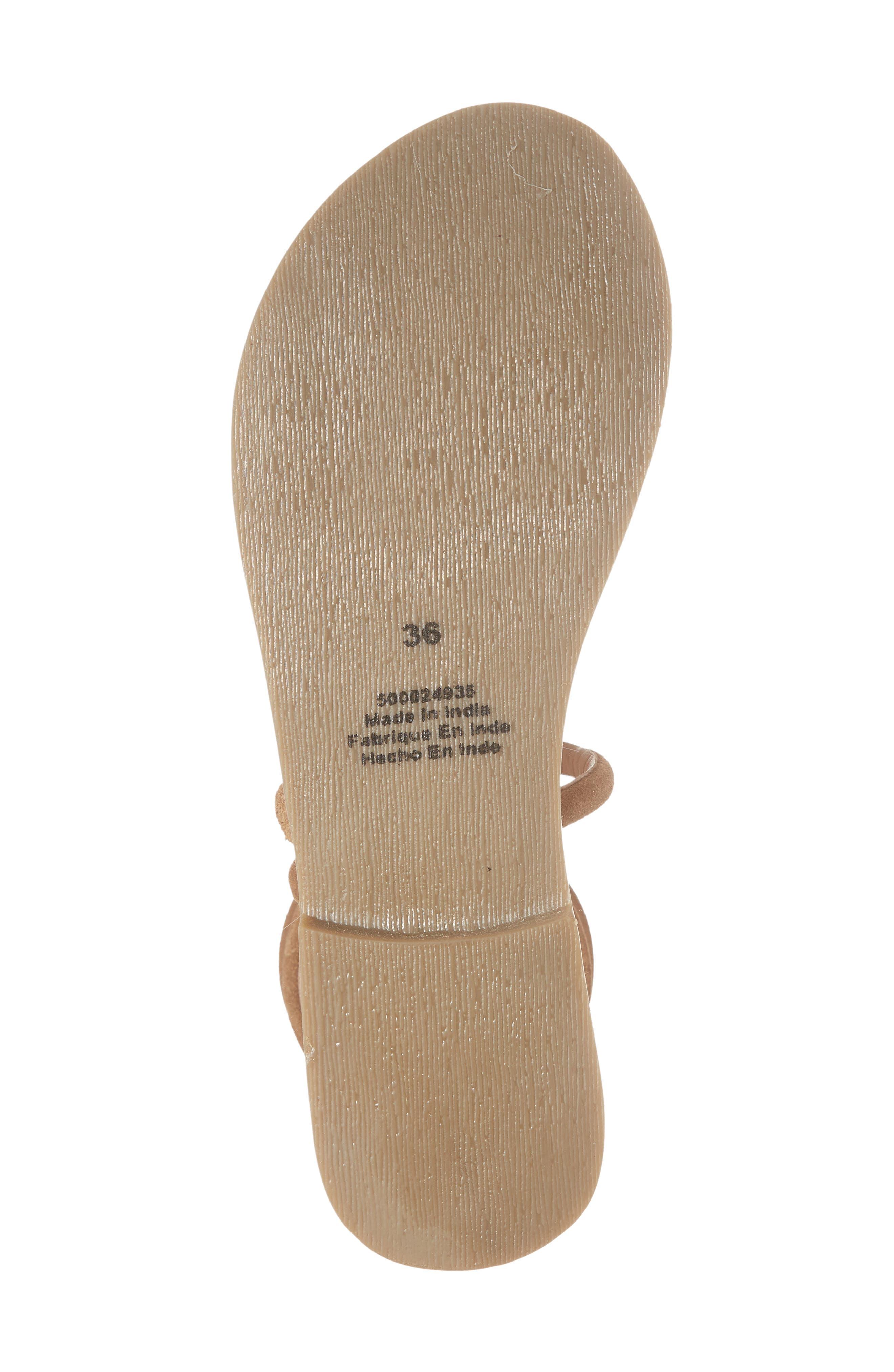 Havana Wraparound Gladiator Sandal,                             Alternate thumbnail 17, color,