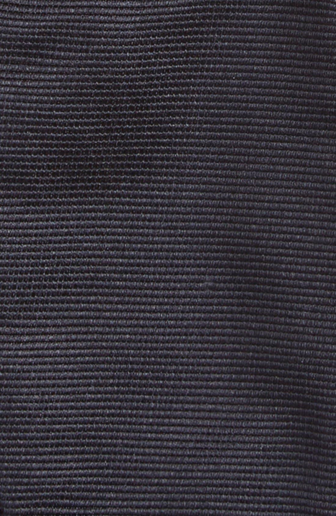 Silk Bow Tie,                             Alternate thumbnail 3, color,                             NAVY