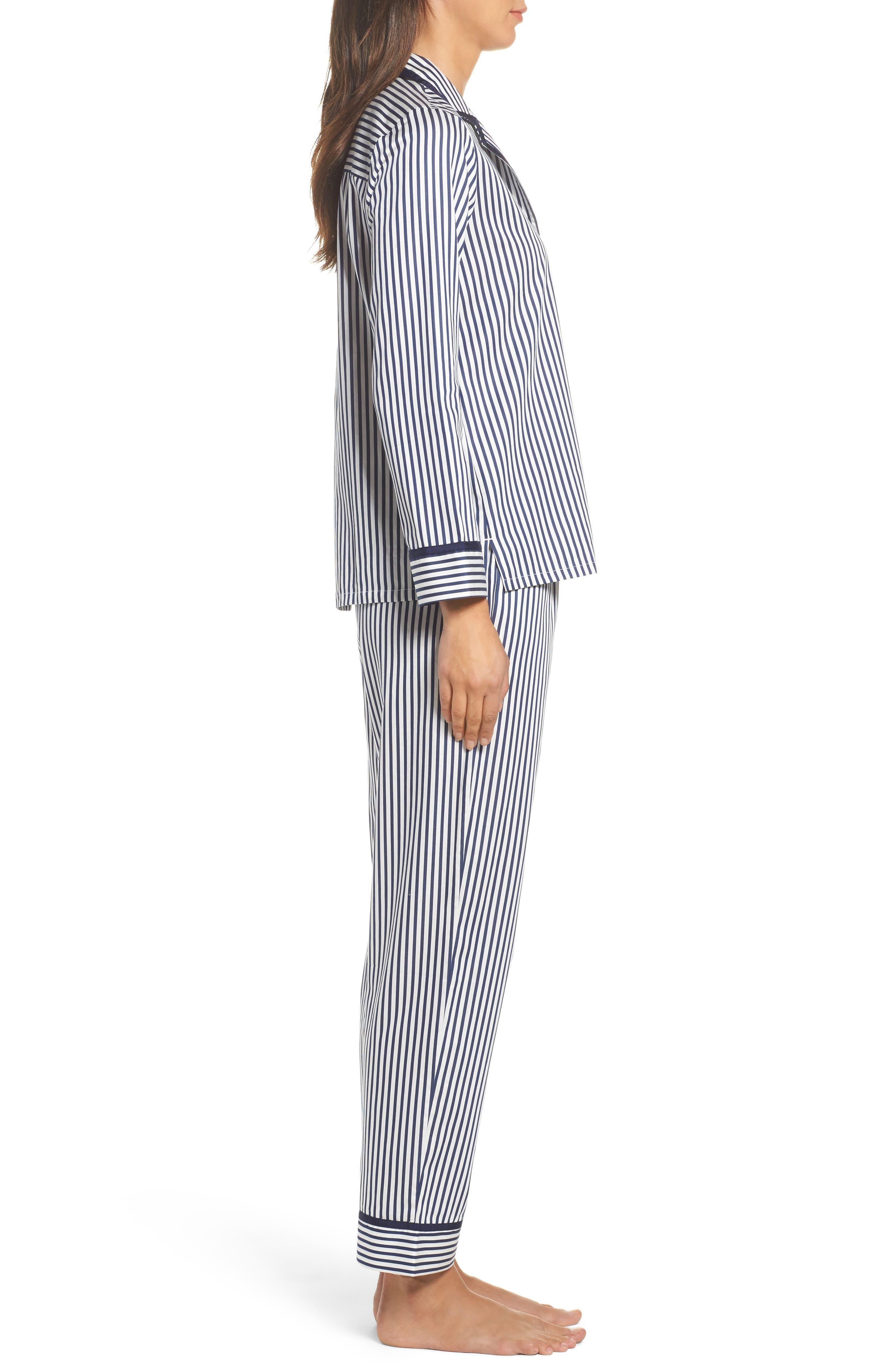 stripe pajamas,                             Alternate thumbnail 3, color,