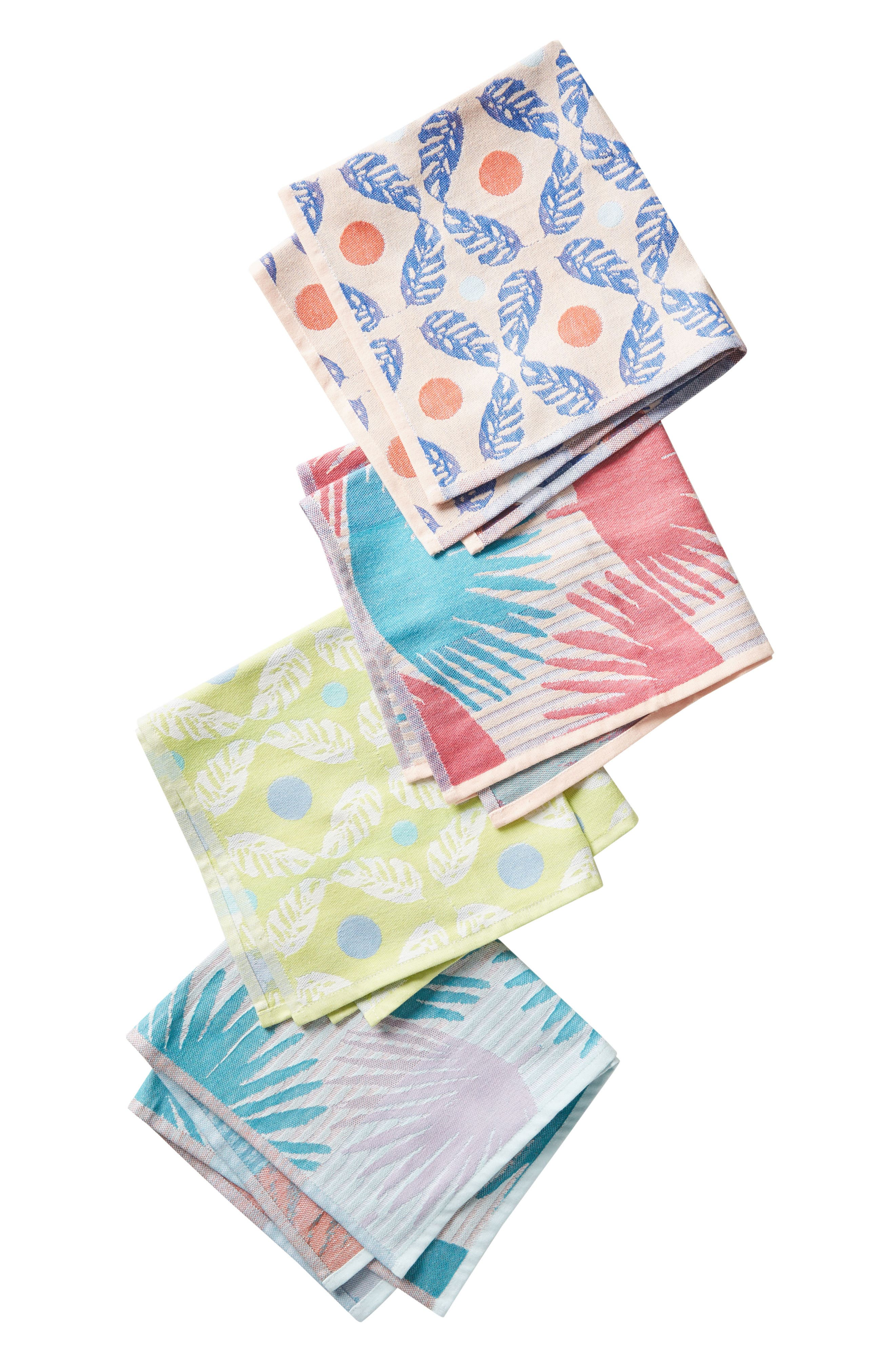 Cady Set of 4 Napkins,                             Alternate thumbnail 3, color,                             400