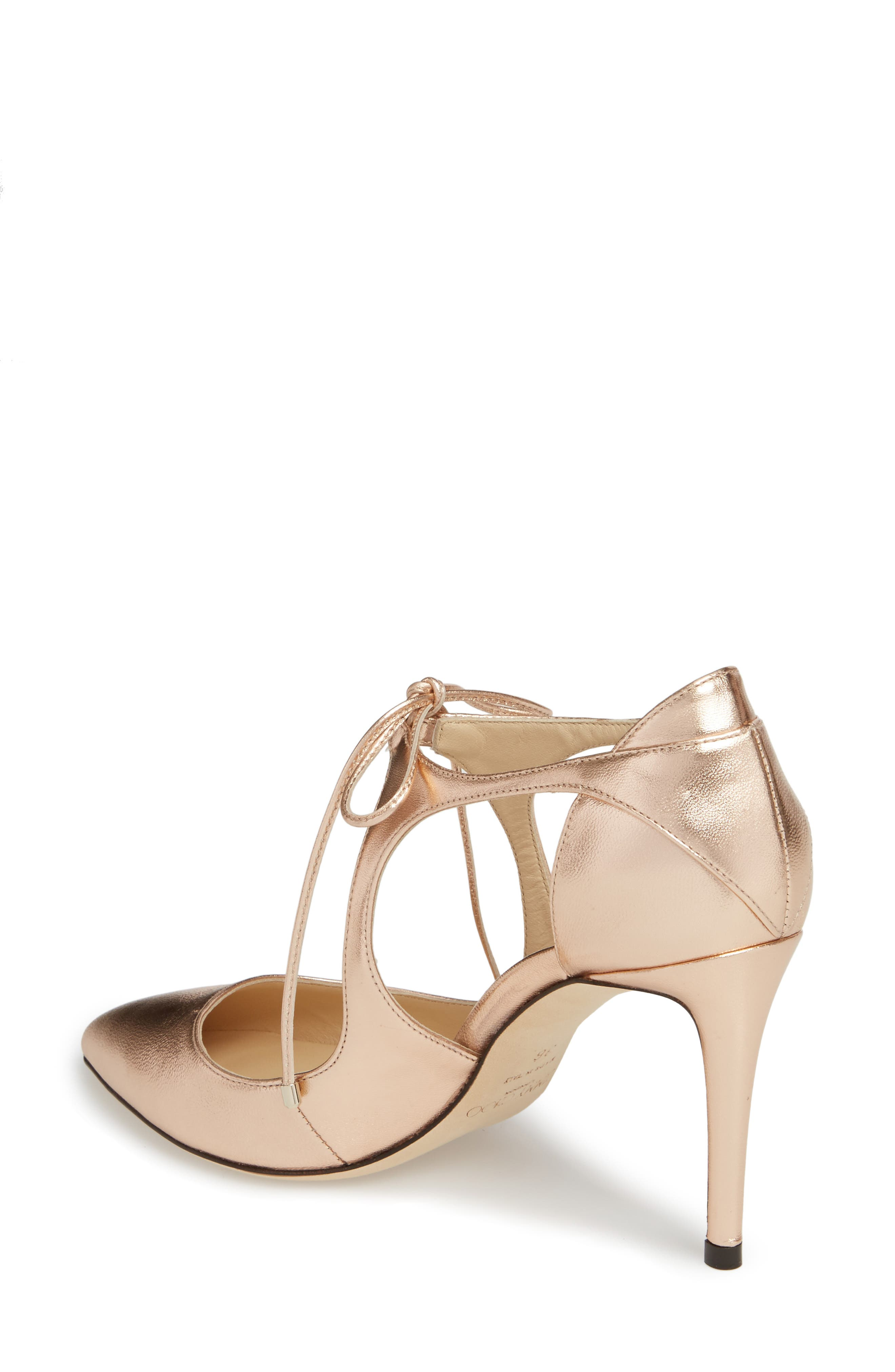 Vanessa Lace-Up Pump,                             Alternate thumbnail 2, color,                             680
