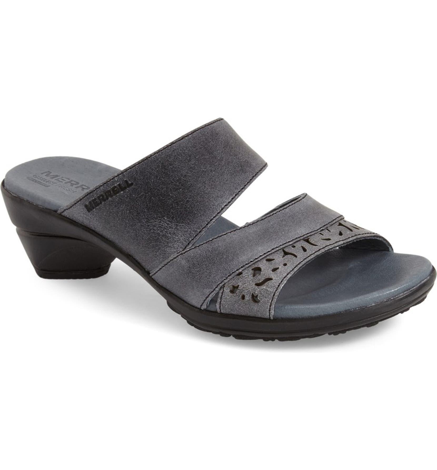 e2a9174eee81 Merrell  Veranda Eve  Perforated Slide Sandal (Women)
