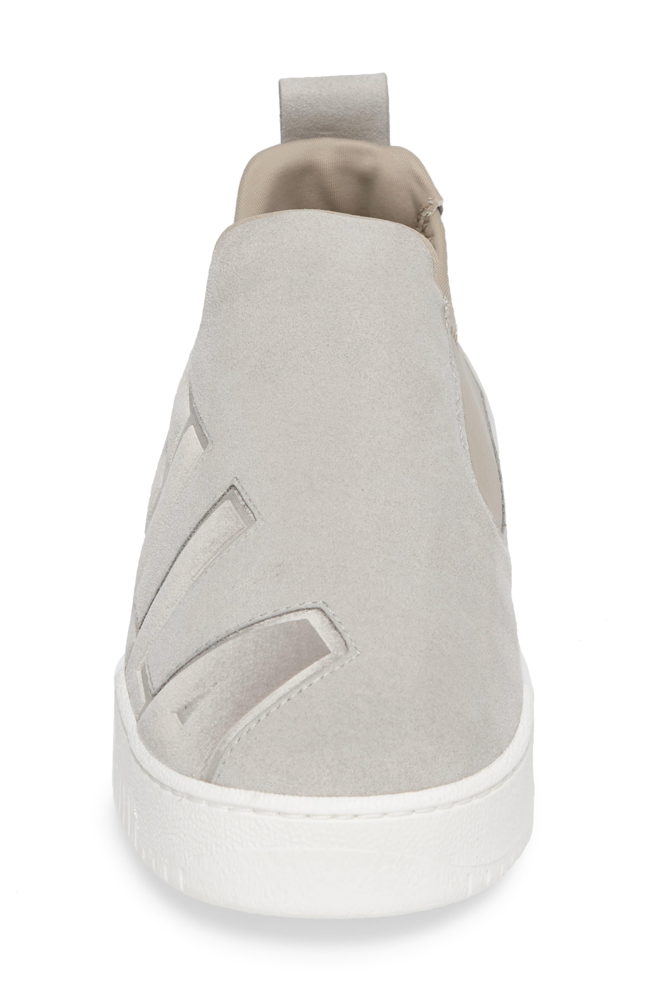 Logo Slip-On Sneaker,                             Alternate thumbnail 4, color,                             100