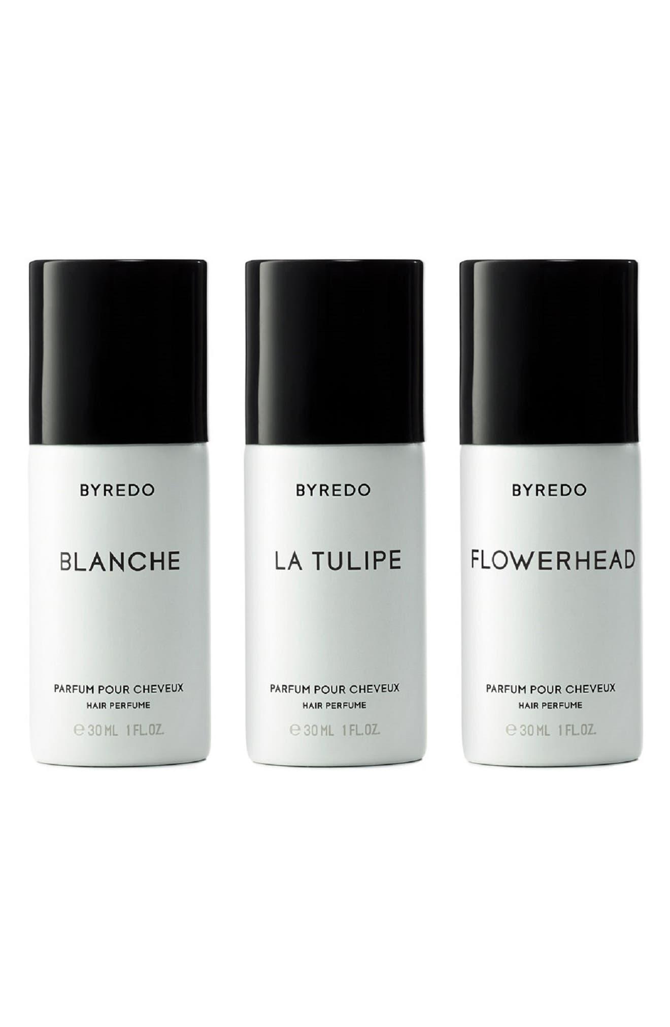 Byredo Triple Gagnat Fleurs Miniature Hair Perfume Trio